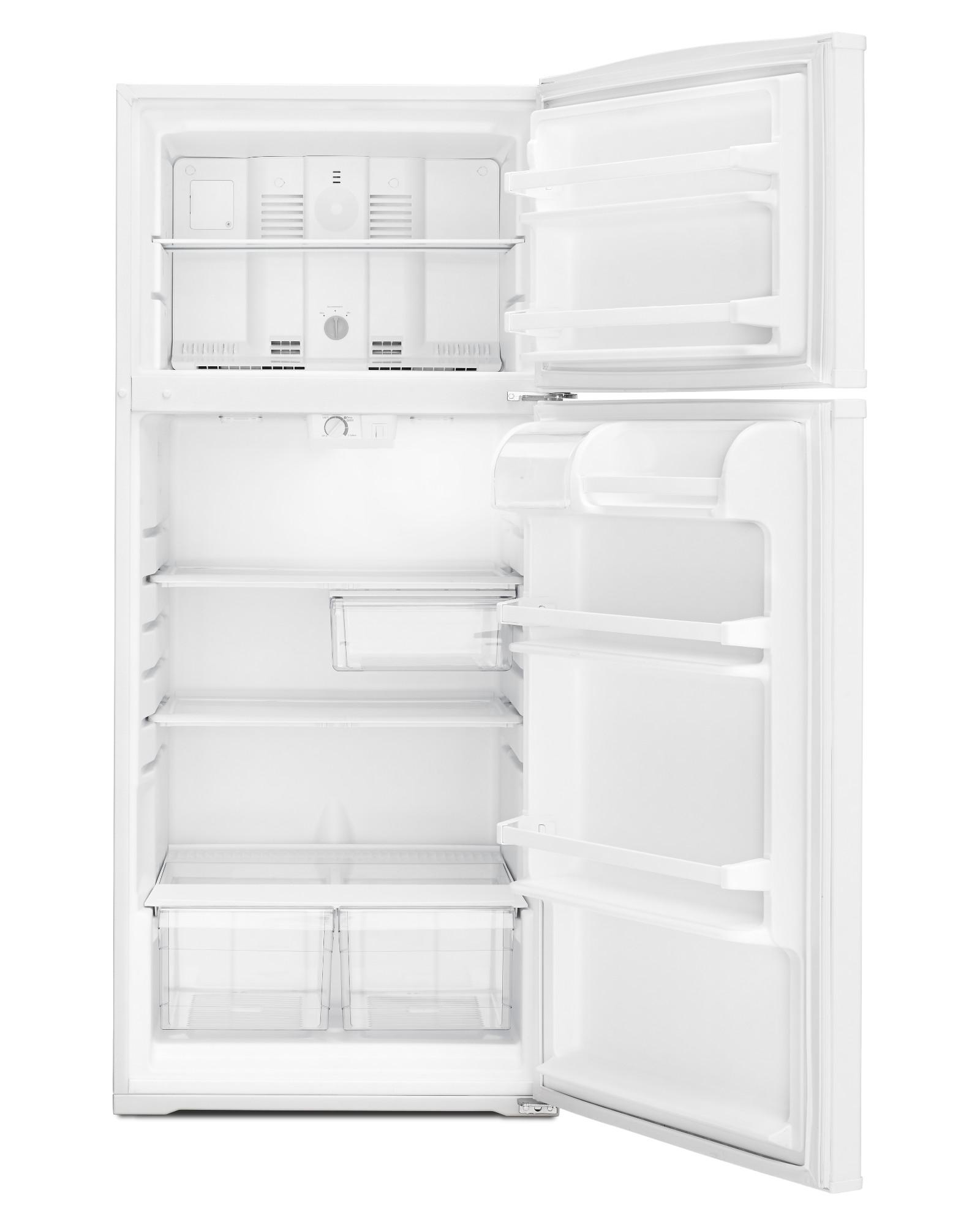 Whirlpool WRT316SFDW 16 cu. ft. Top Freezer Refrigerator - White