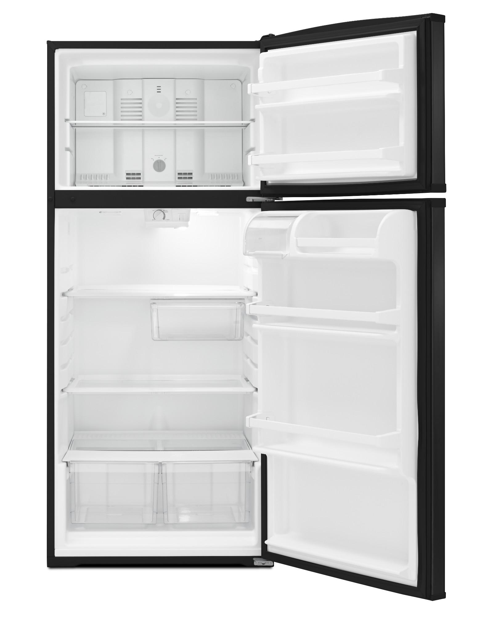 Whirlpool WRT316SFDB 16 cu. ft. Top Freezer Refrigerator - Black