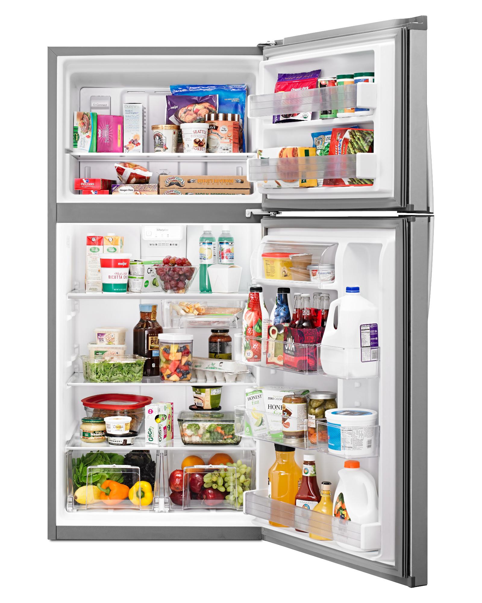 Whirlpool WRT549SZDM 19 cu. ft. Top Freezer Refrigerator - Stainless Steel