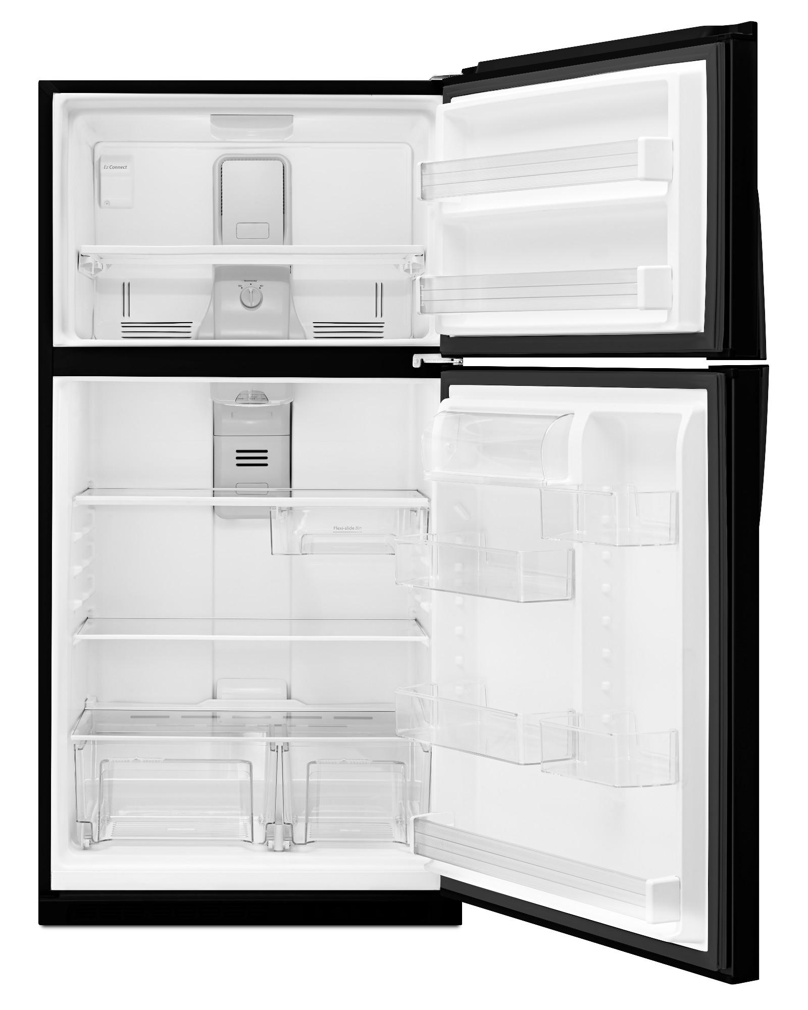 Whirlpool WRT541SZDB 21 ct. ft. Top Freezer Refrigerator - Black