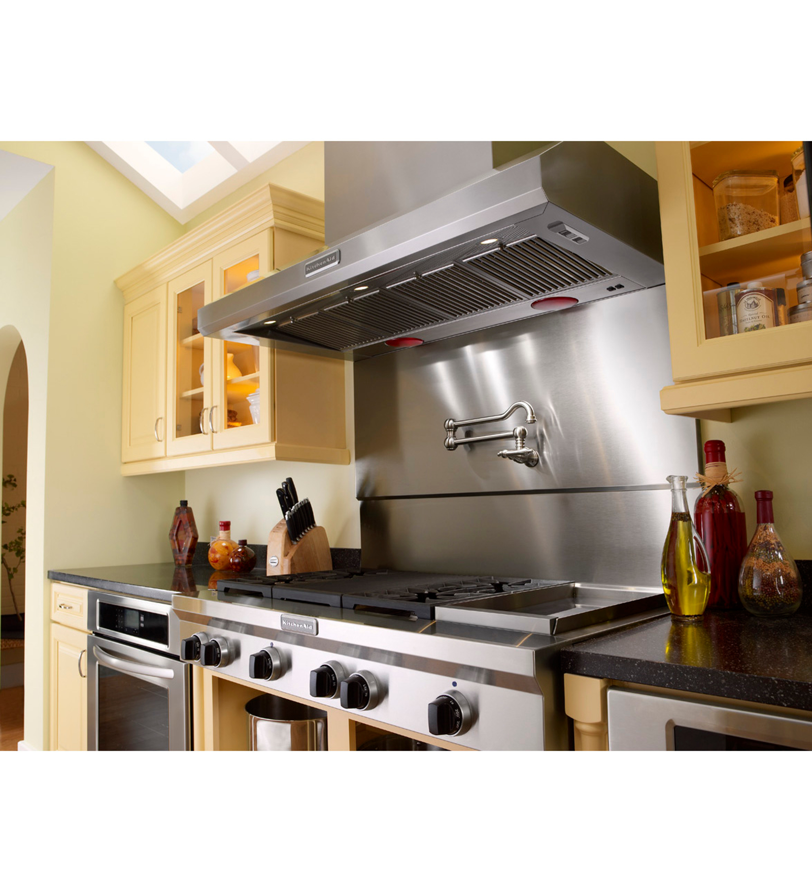 KitchenAid KDRS483VSS Pro-Style® 6.3 cu. ft. Dual Fuel Range w/ Griddle - Stainless Steel