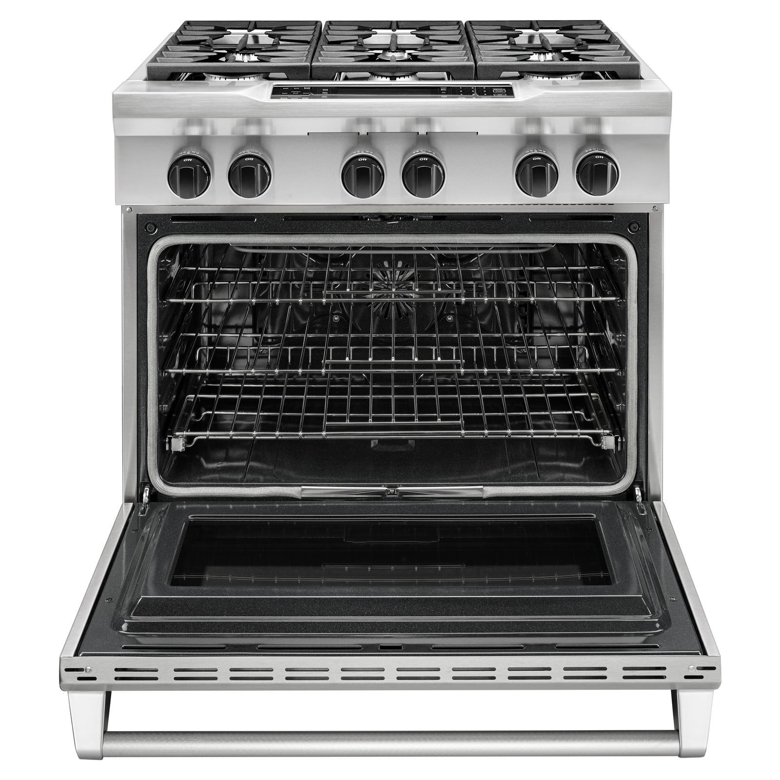 KitchenAid KDRS467VSS Pro-Style 5.1 cu. ft. Dual Fuel Range - Stainless Steel