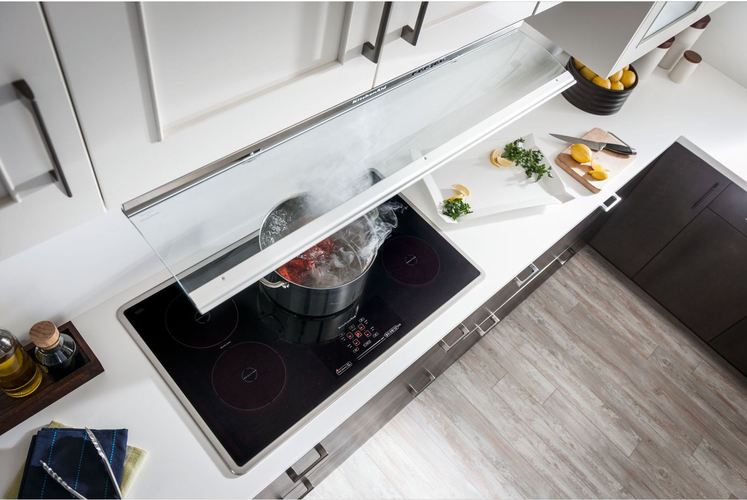 KitchenAid KXU2836YSS 36 in. Specialty Series Slide-Out Range Hood