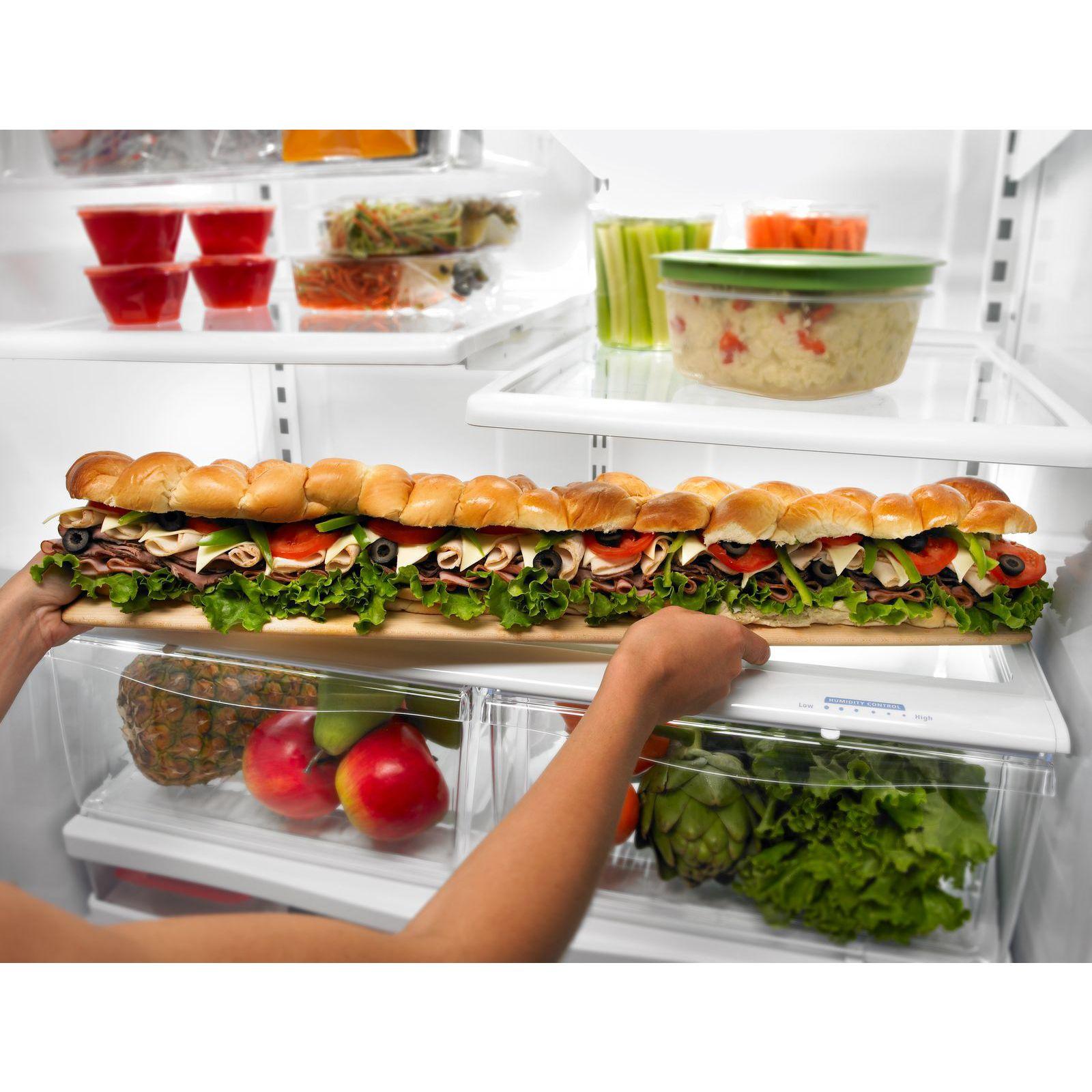 Whirlpool 24.8 cu. ft. French Door Bottom Freezer Refrigerator with Contour Doors
