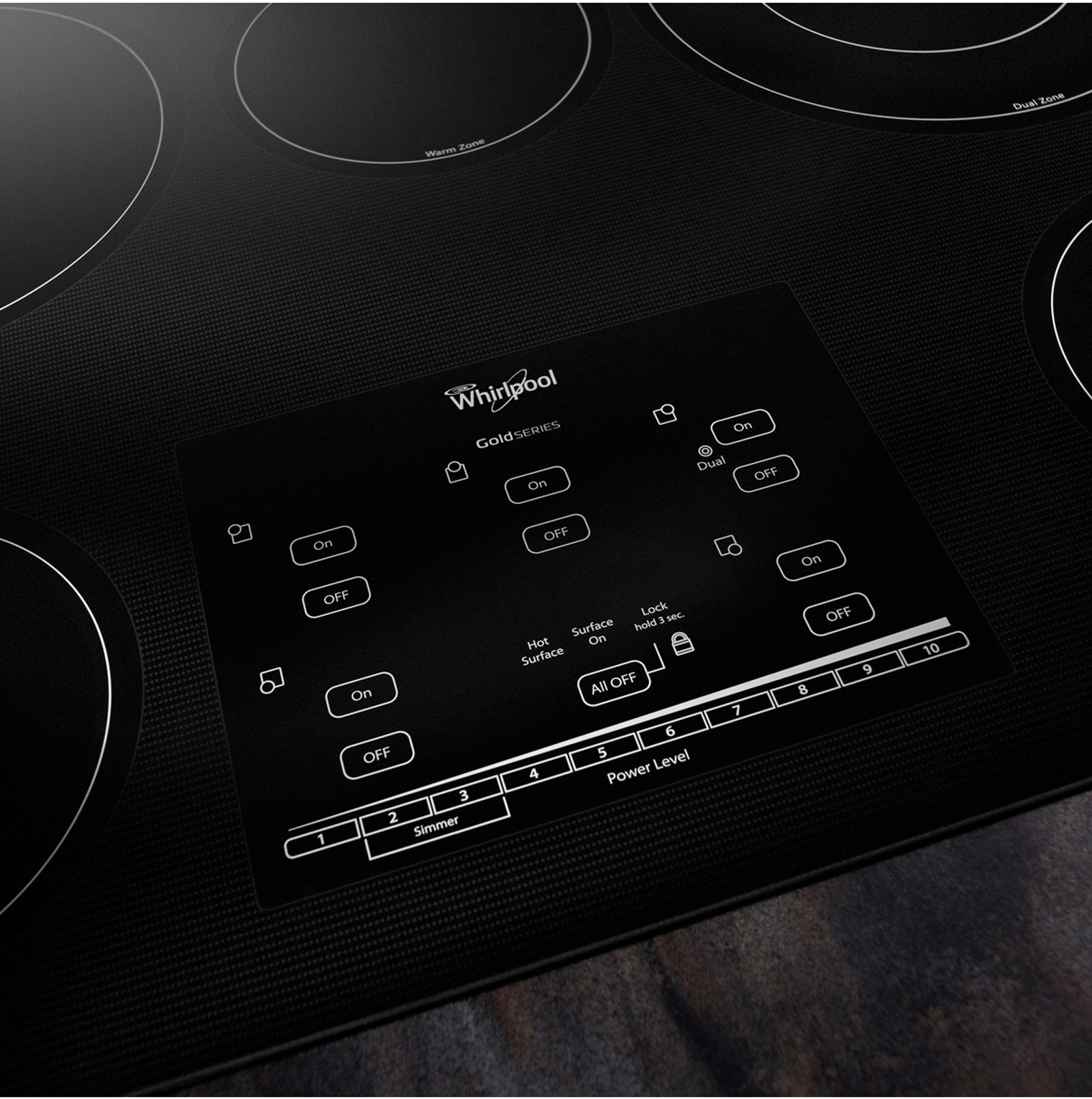 "Whirlpool Gold G9CE3065XB 30"" Electric Cooktop"