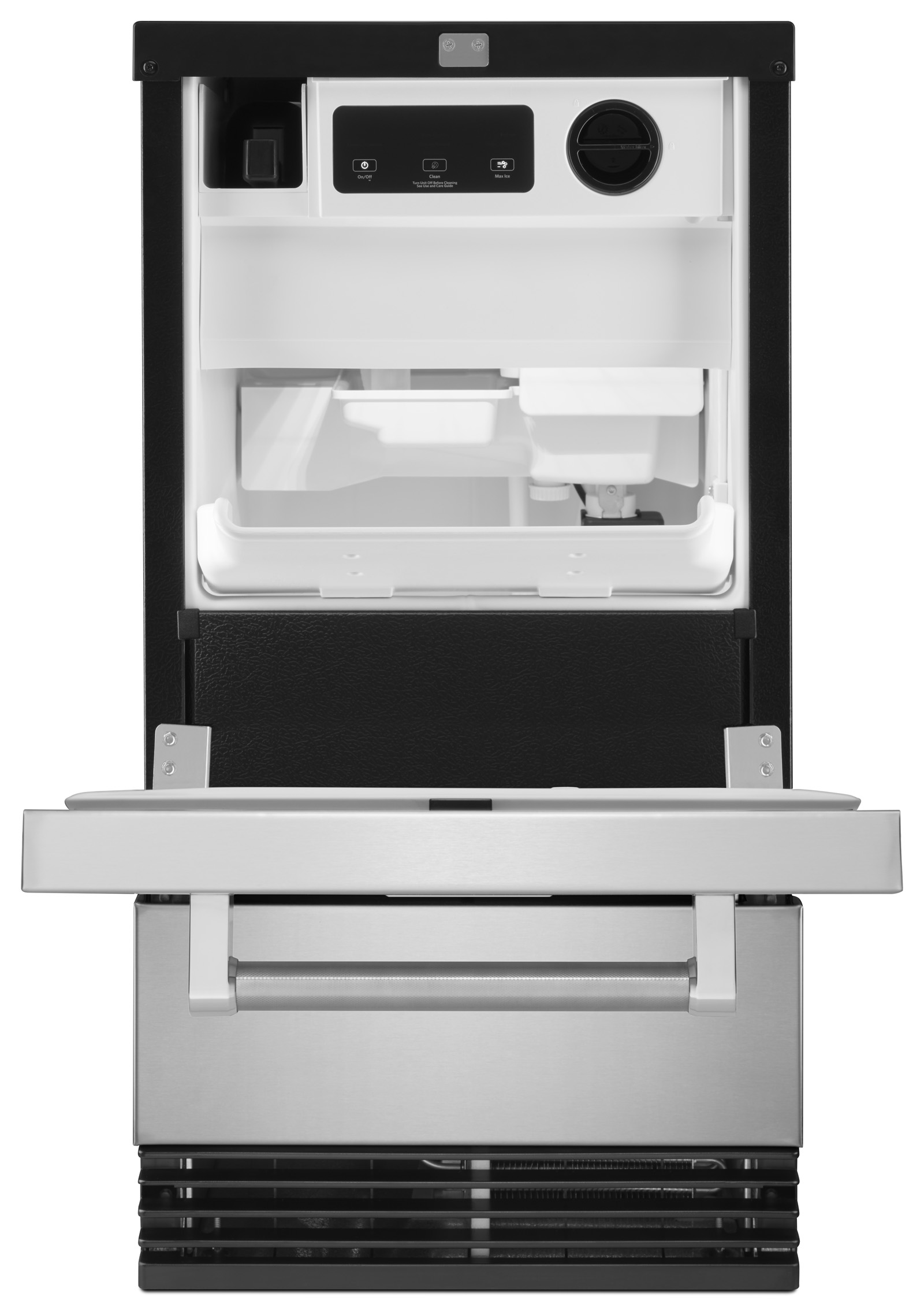 """KitchenAid KUID308ESS 18"""" Automatic Ice Maker - Stainless Steel"""