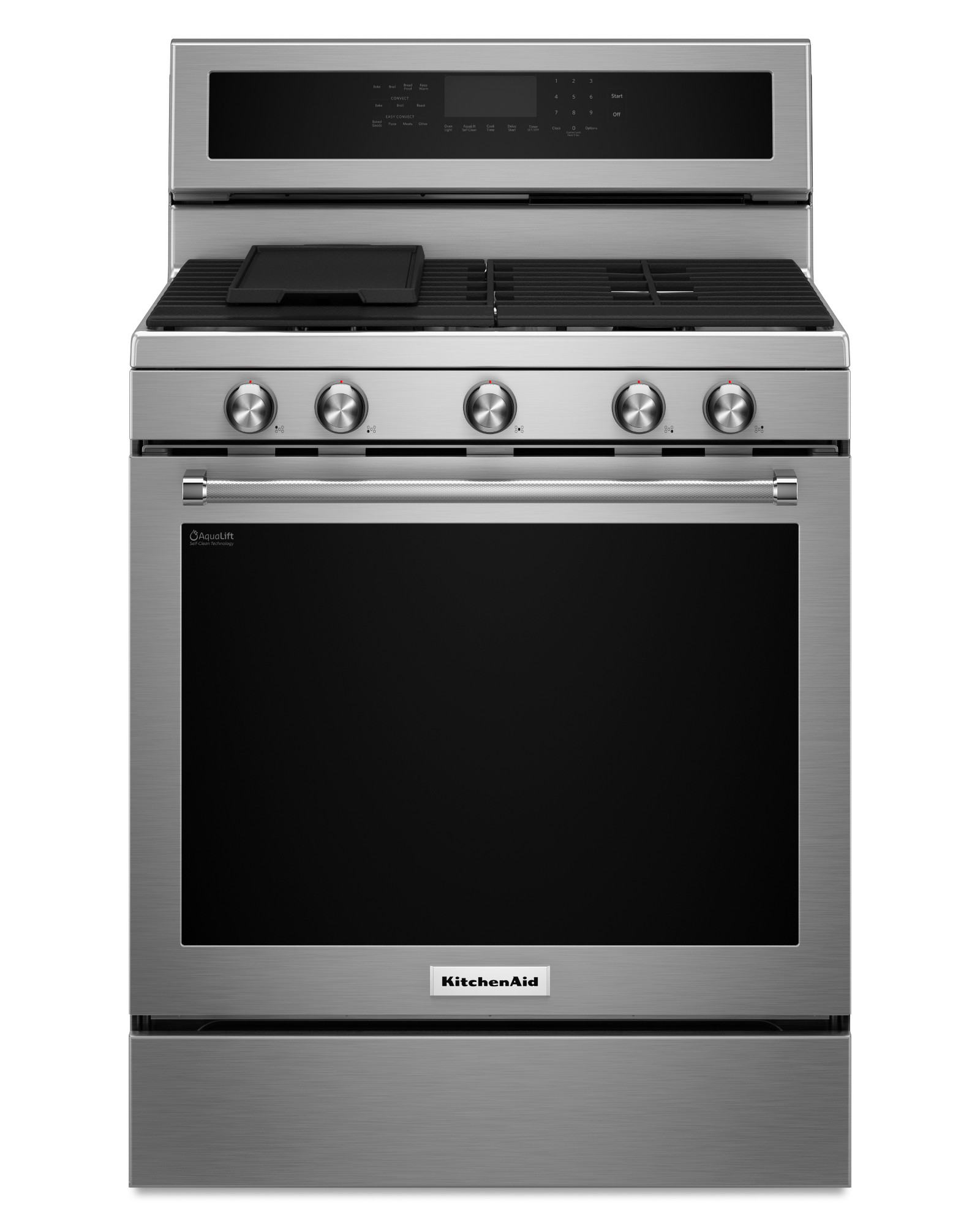 KitchenAid KFGG500ESS 5.8 cu. ft. Freestanding Gas Range - Stainless Steel