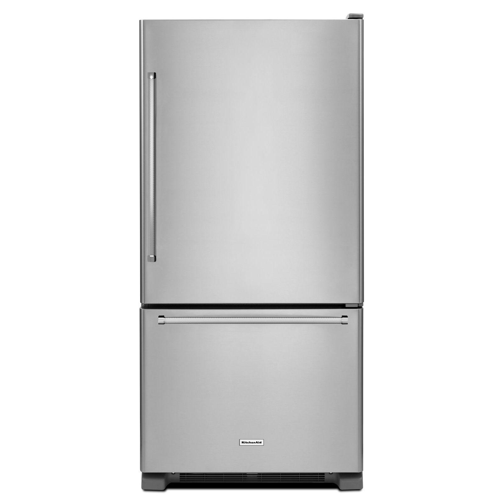 KRBR102ESS-22-cu-ft-Bottom-Mount-Refrigerator-Stainless-Steel