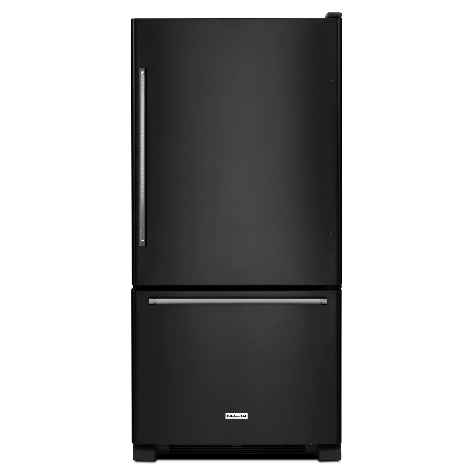 KitchenAid KRBX109EBL 19 cu. ft. Bottom Mount Refrigerator - Black