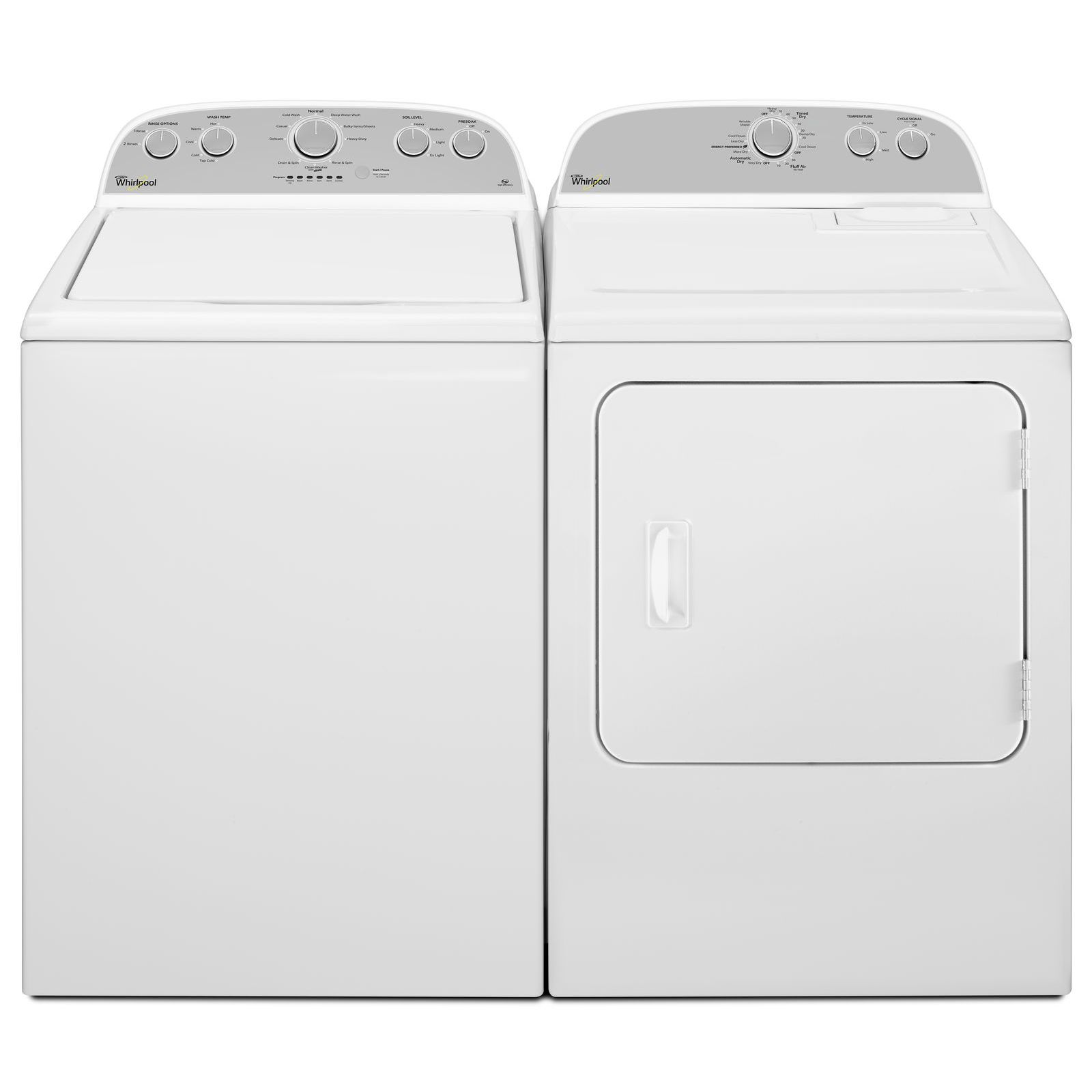Whirlpool 3.5 cu. ft. High-Efficiency Top Load Washer - White