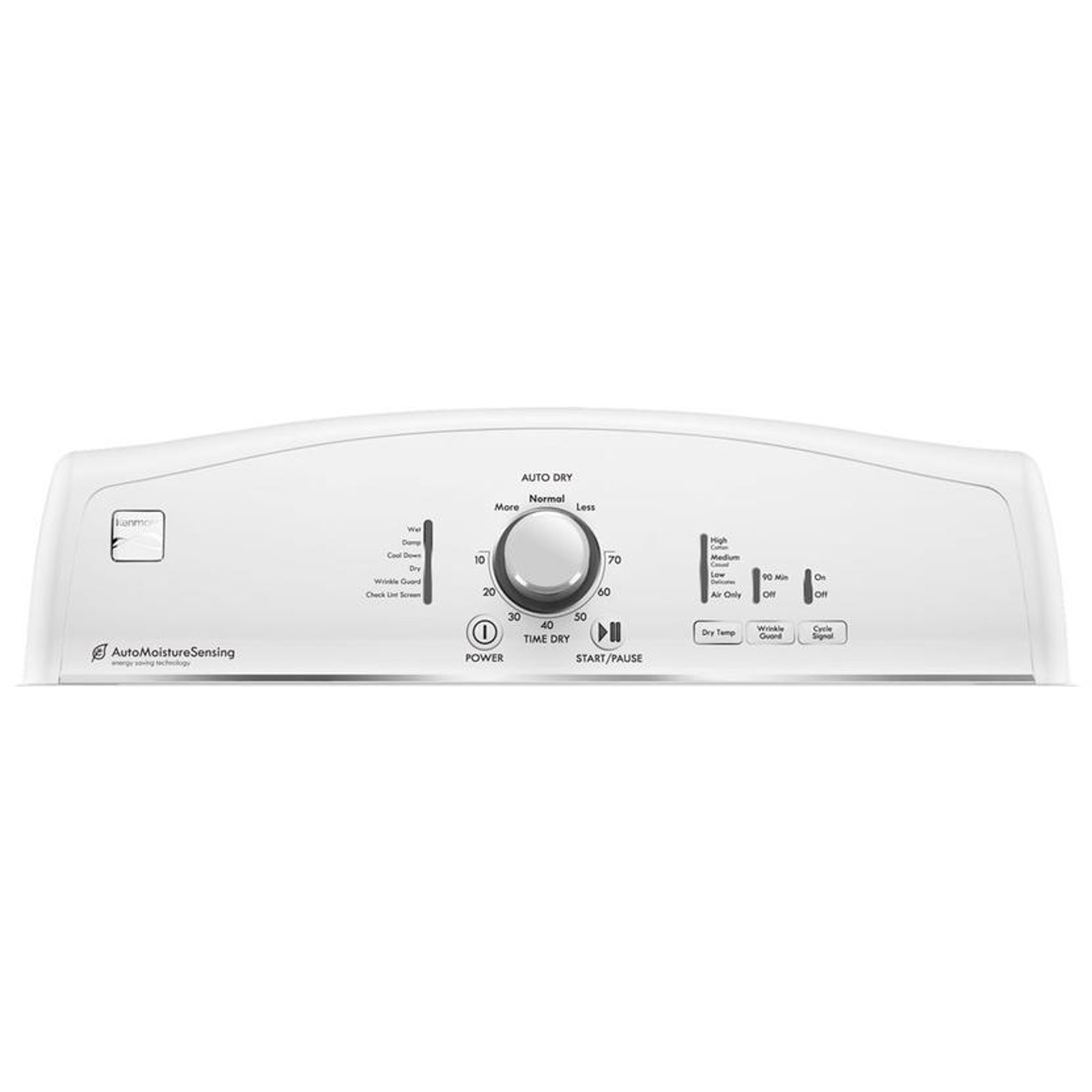 Kenmore 66002 7.5 cu. ft. Electric Dryer - White