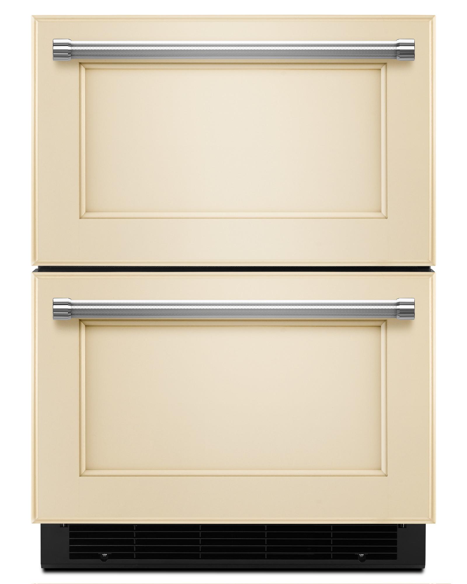 KitchenAid KUDR204EPA 4.7 cu. ft. Double Refrigerator Drawer - Panel Ready