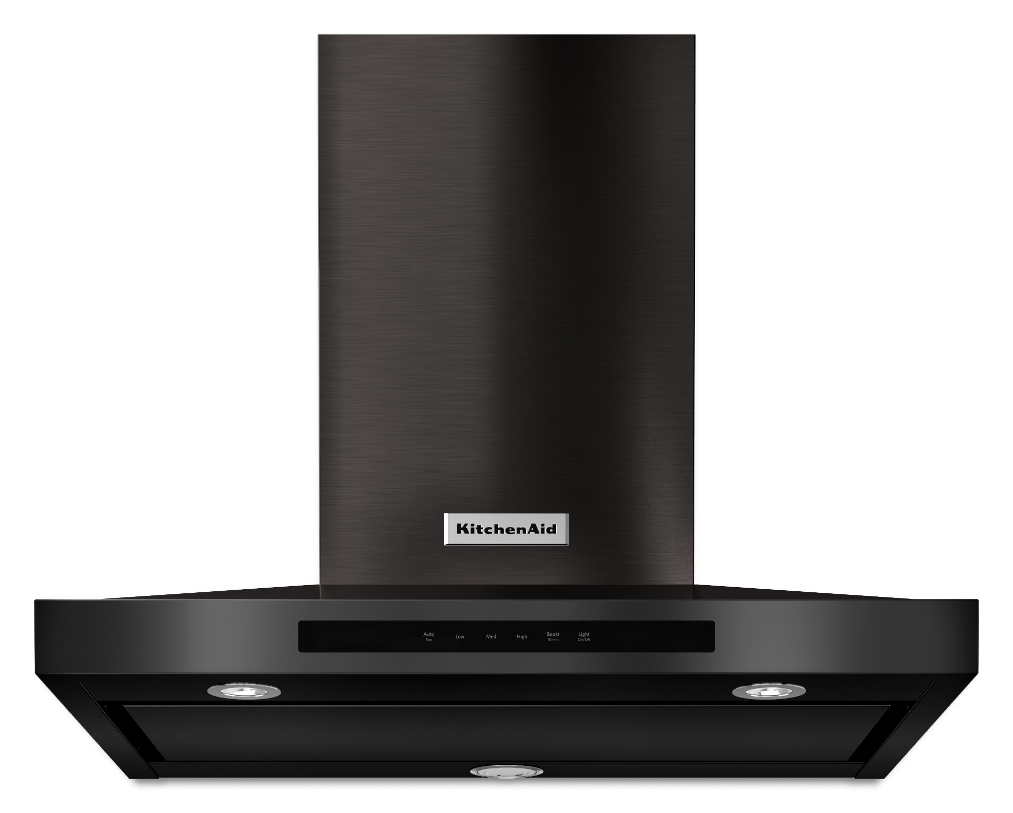 KitchenAid KVWB600DBS 30 Wall-Mount 3-Speed Canopy Hood - Black Stainless