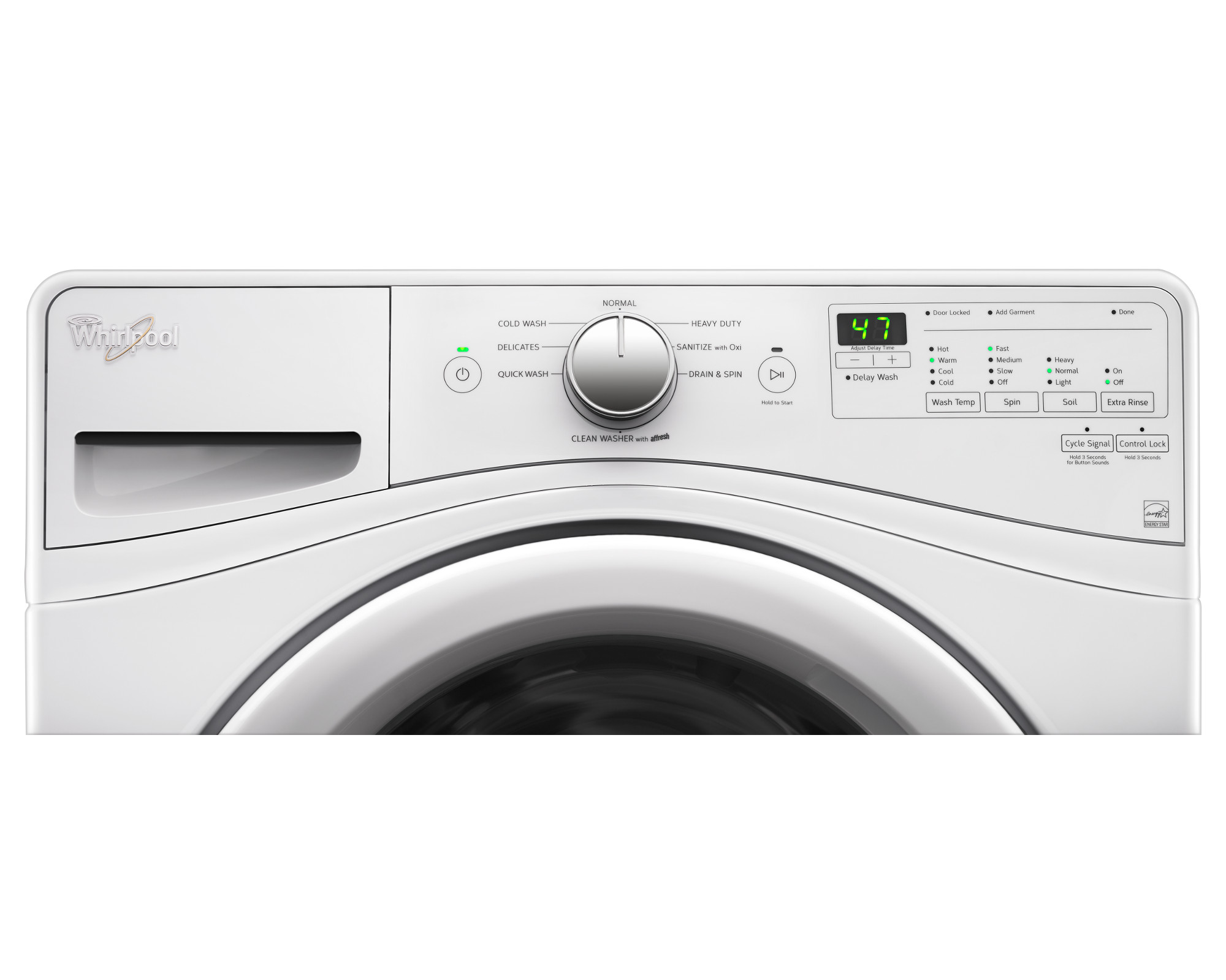 Whirlpool WFW75HEFW 4.5 cu. ft. Front-Load Washer - White
