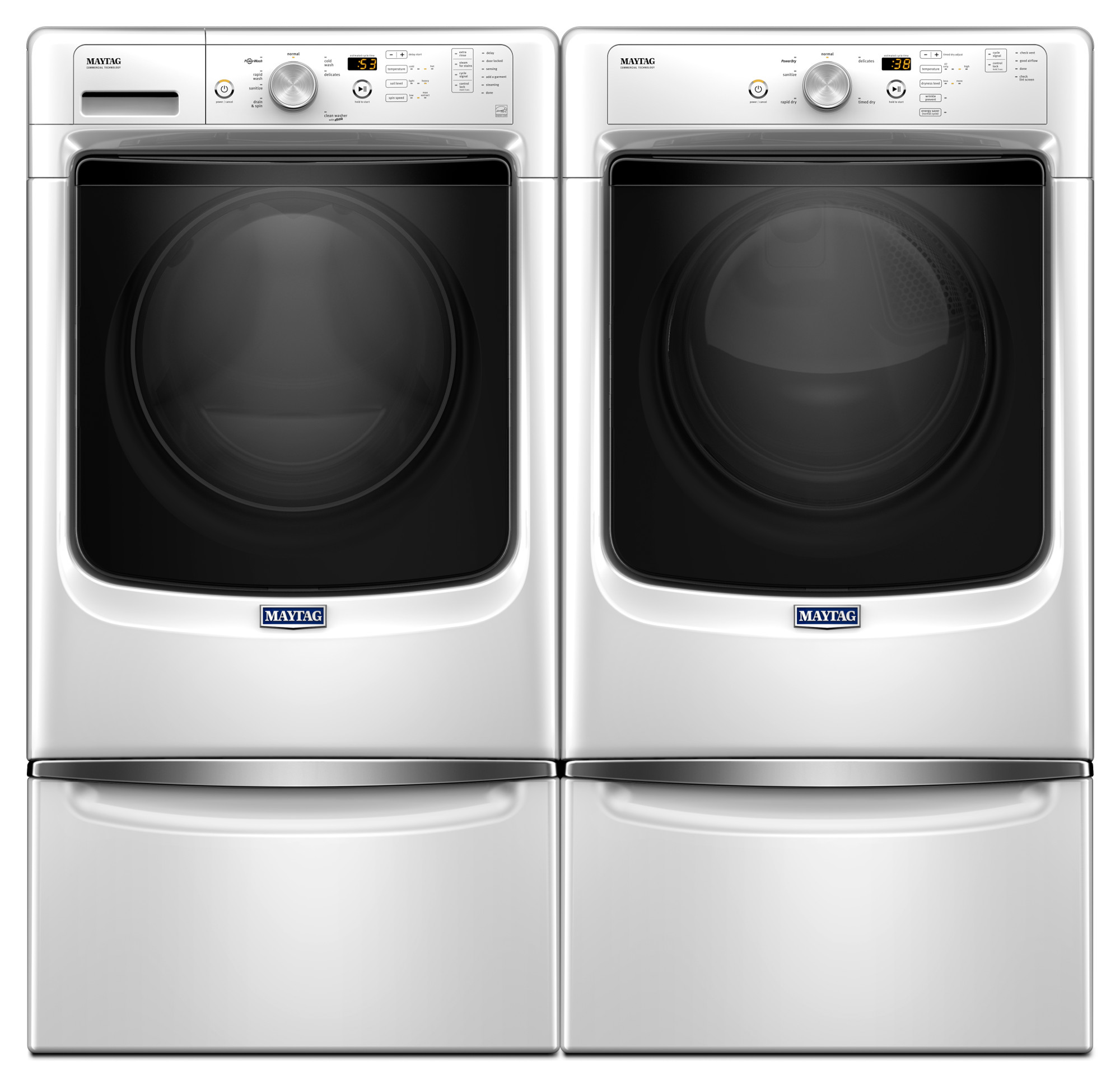 Maytag MED3500FW 7.4 cu. ft. Electric Dryer - White