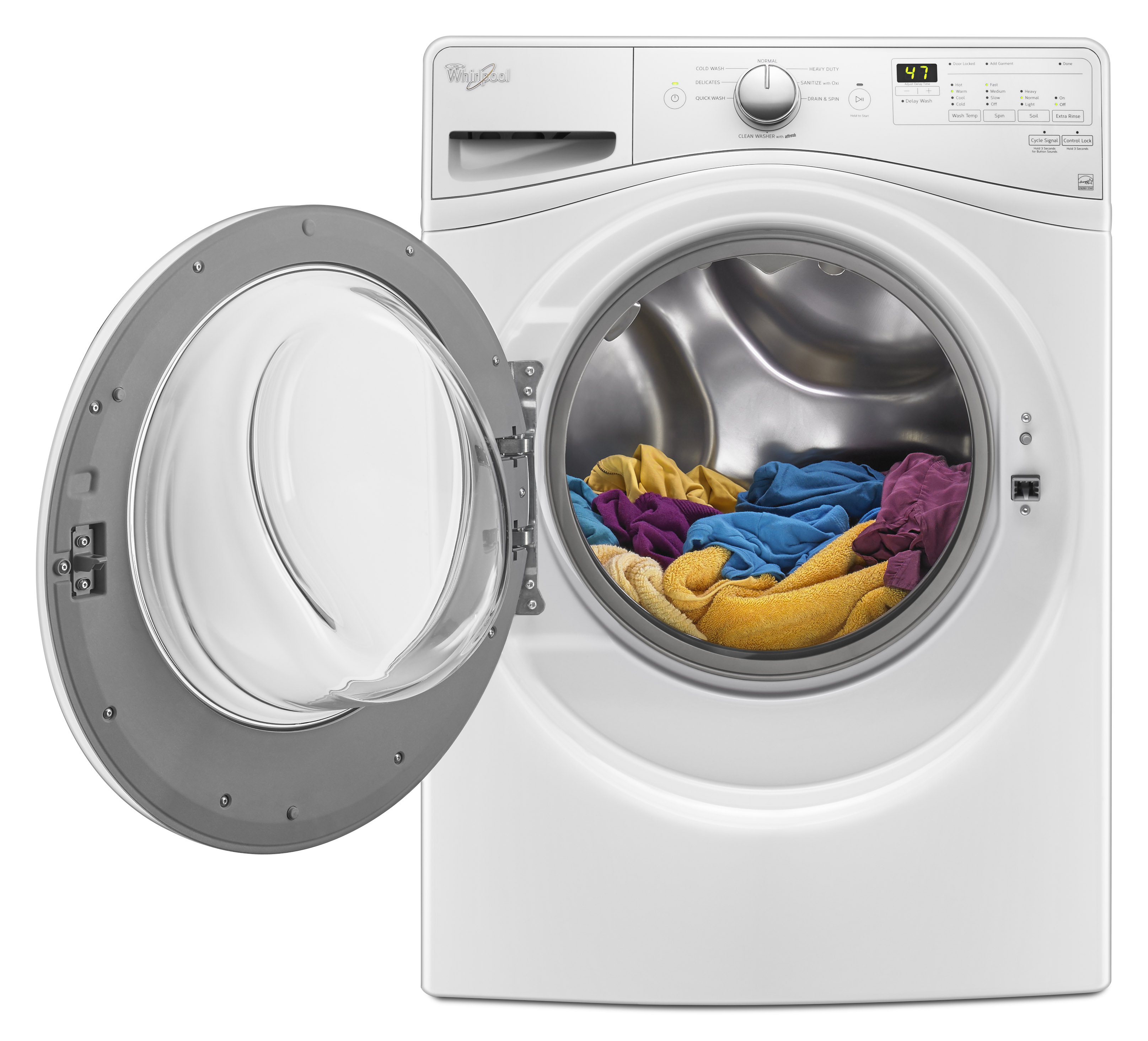 Whirlpool WFW7590FW 4.2 cu. ft. Front Load Washer w/ Closet-Depth Fit - White
