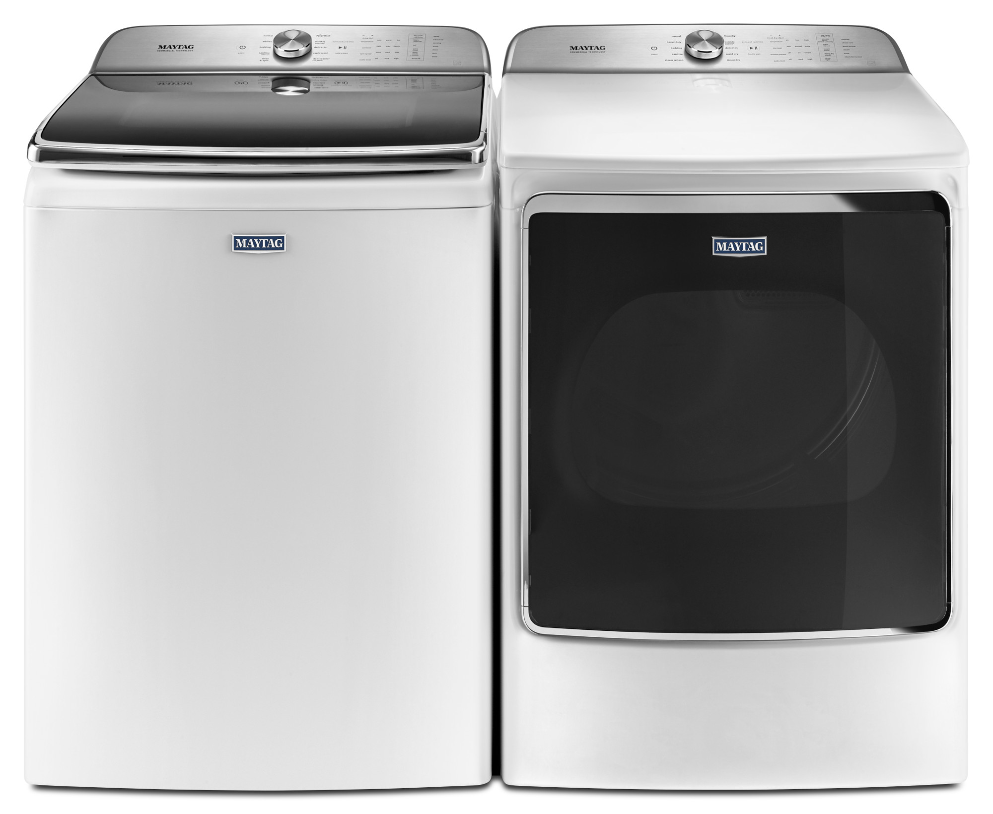 Maytag MEDB955FW 9.2 cu. ft. Front Load Electric Dryer w/ PowerDry System and Extra Moisture Sensor - White
