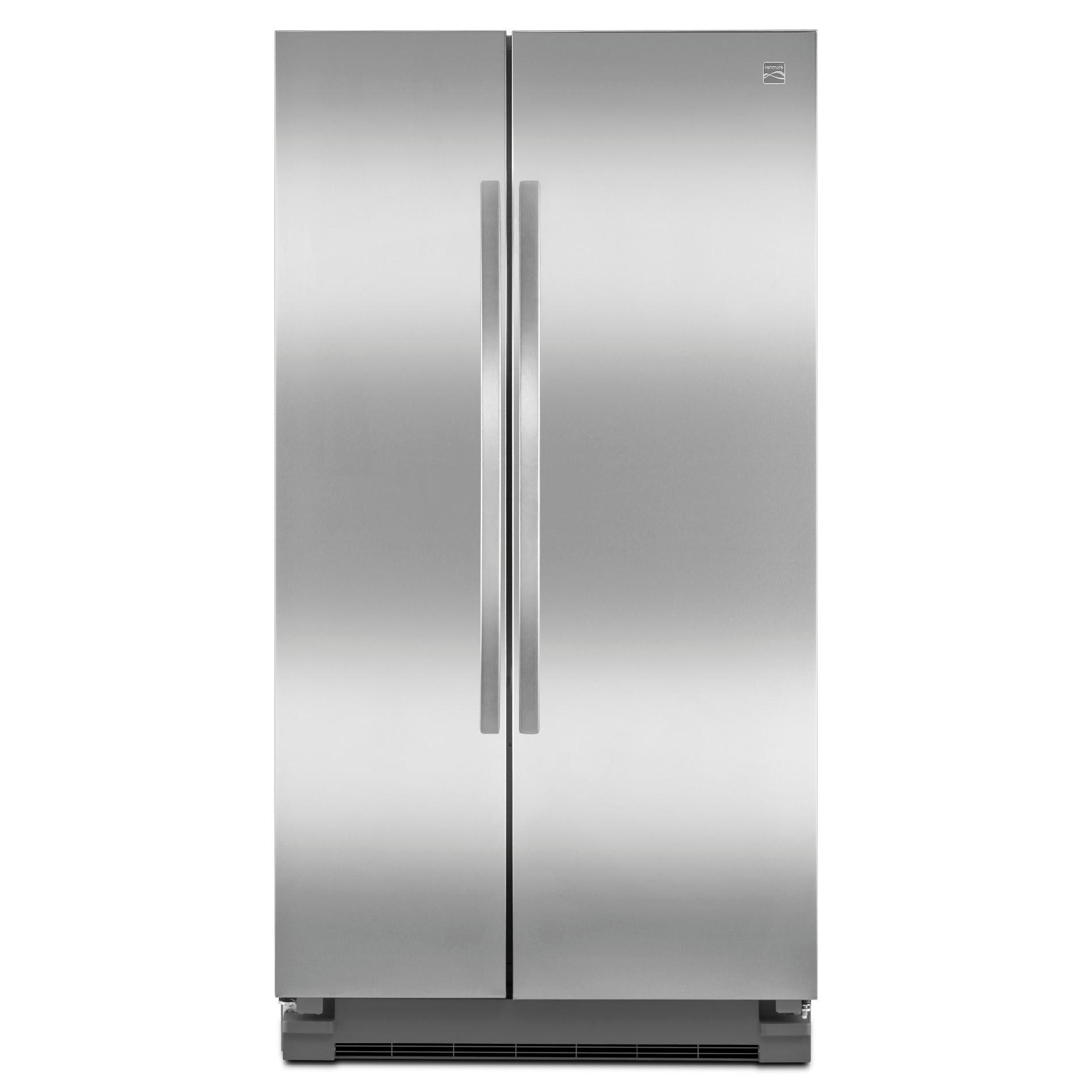Kenmore 41153 25 cu. ft. Side-by-Side Refrigerator - Stainless Steel
