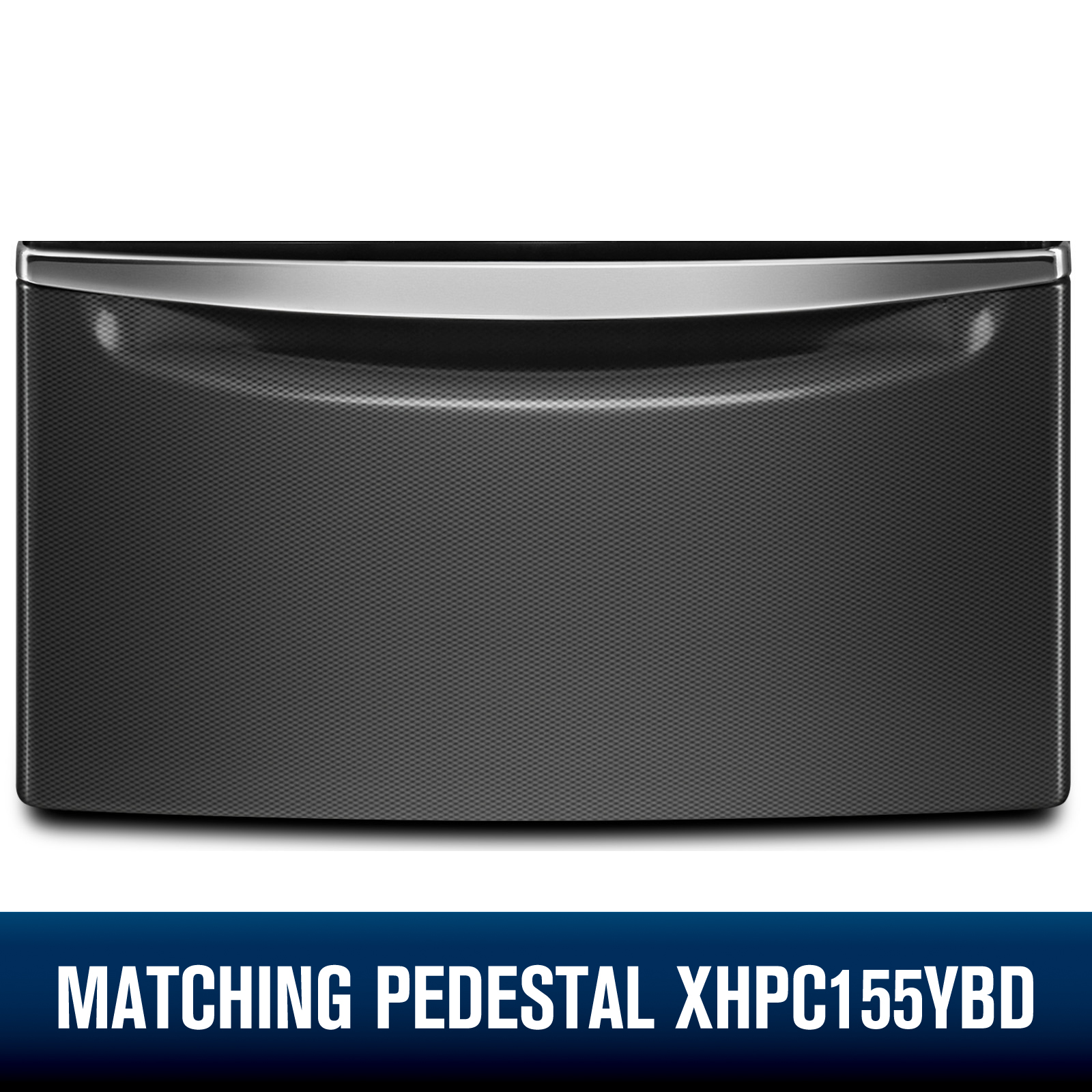 Whirlpool WFW92HEFBD 4.5 cu. ft. Front Load Washer w/ Load & Go™ Bulk Dispenser - Black Diamond