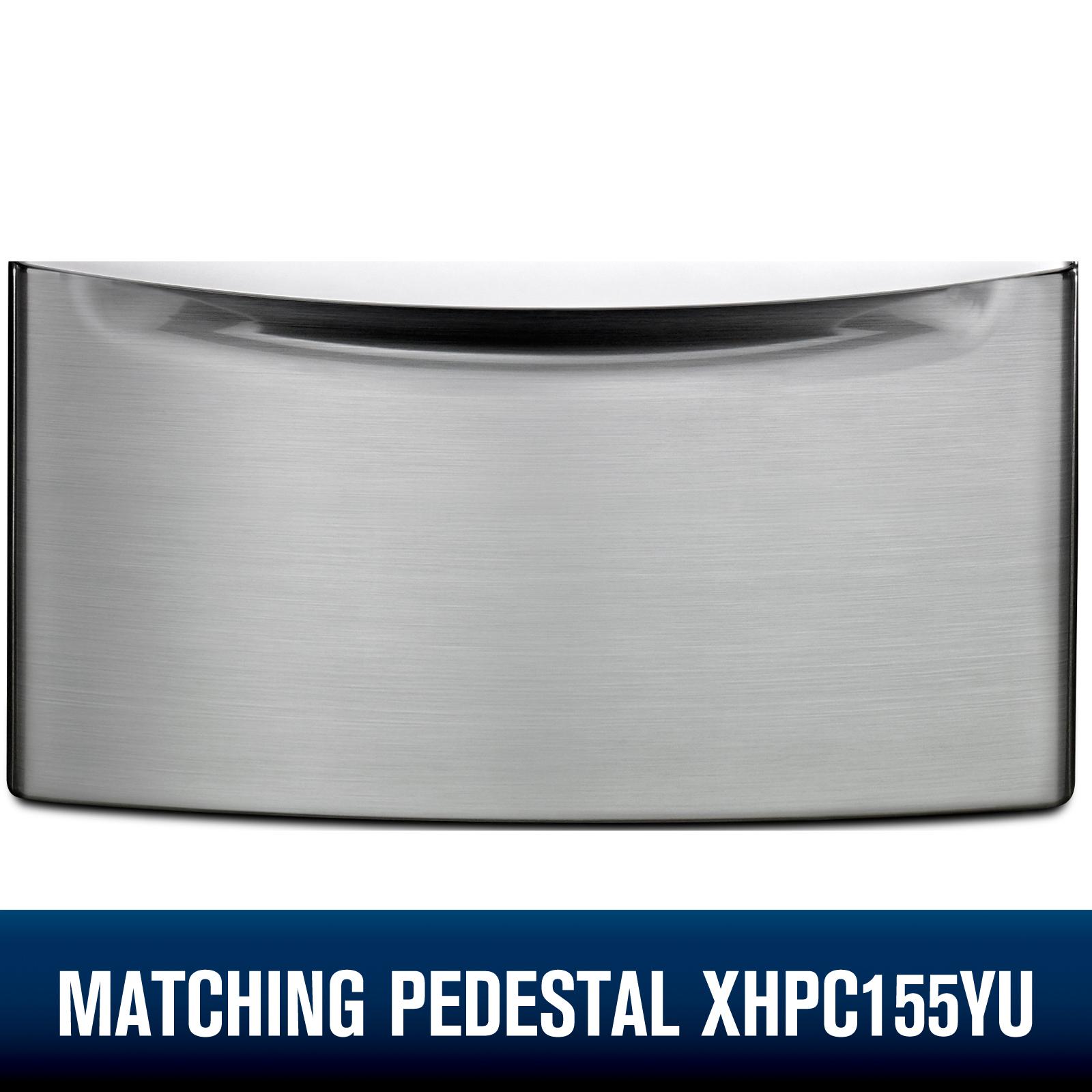 Whirlpool WFW92HEFU  4.5 cu. ft. Front Load Washer w/ Load & Go™ Bulk Dispenser - Diamond Steel