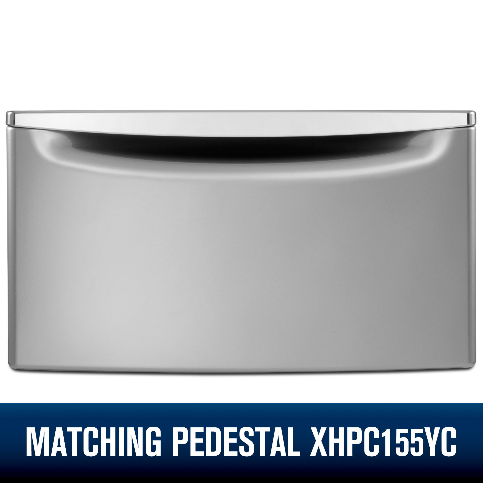 Whirlpool WGD92HEFC 7.4 cu. ft. Gas Dryer w/ Advanced Moisture Sensing - Chrome Shadow