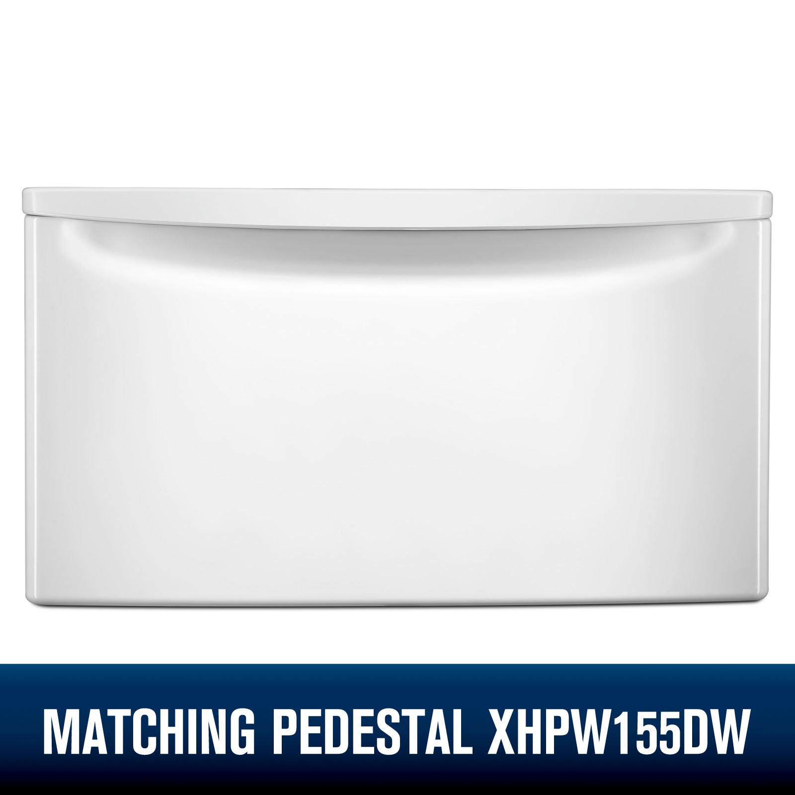 Whirlpool WGD92HEFW  7.4 cu. ft. Gas Dryer w/ Advanced Moisture Sensing - White