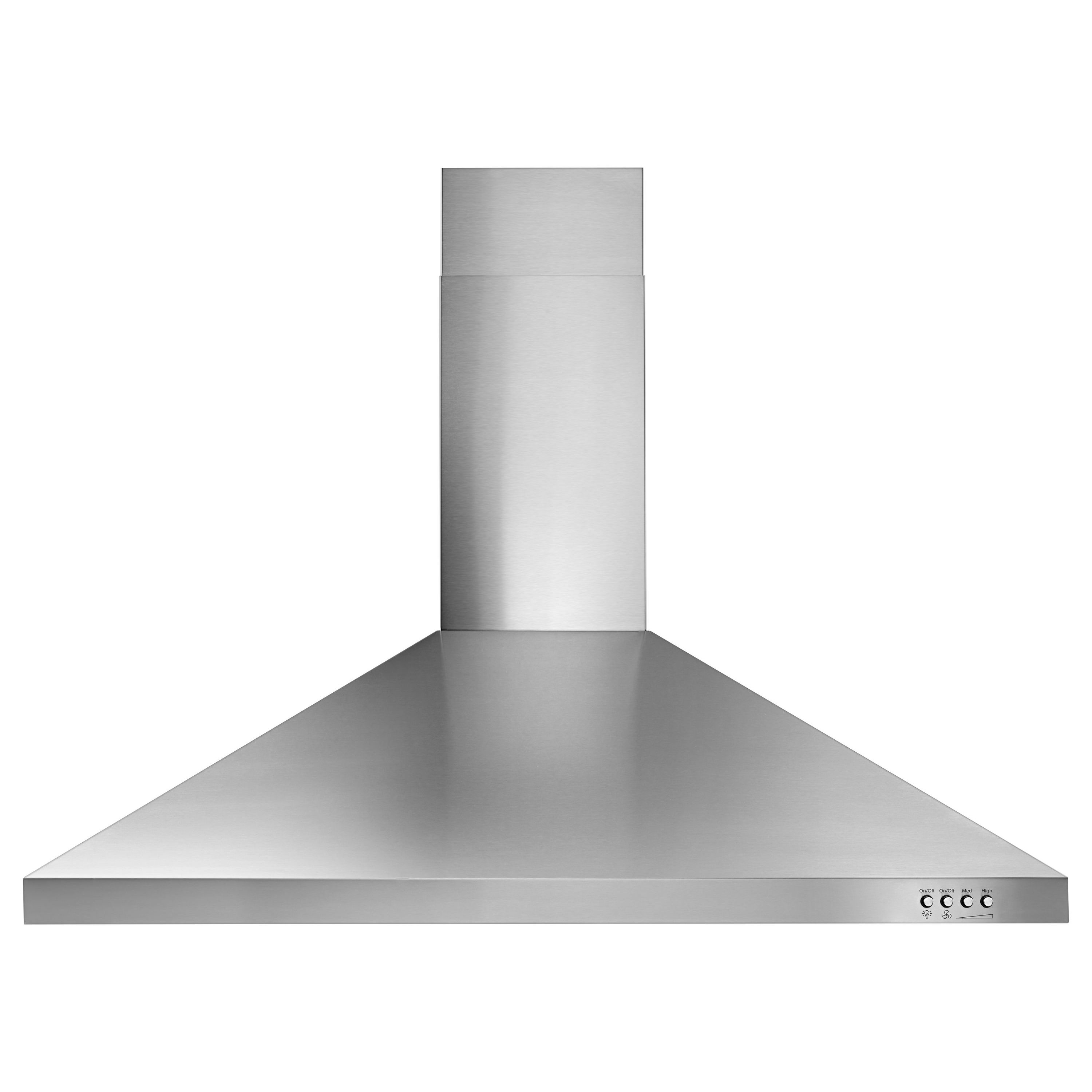 Whirlpool WVW53UC6FS 36 Contemporary Wall Mount Range Hood – Stainless Steel