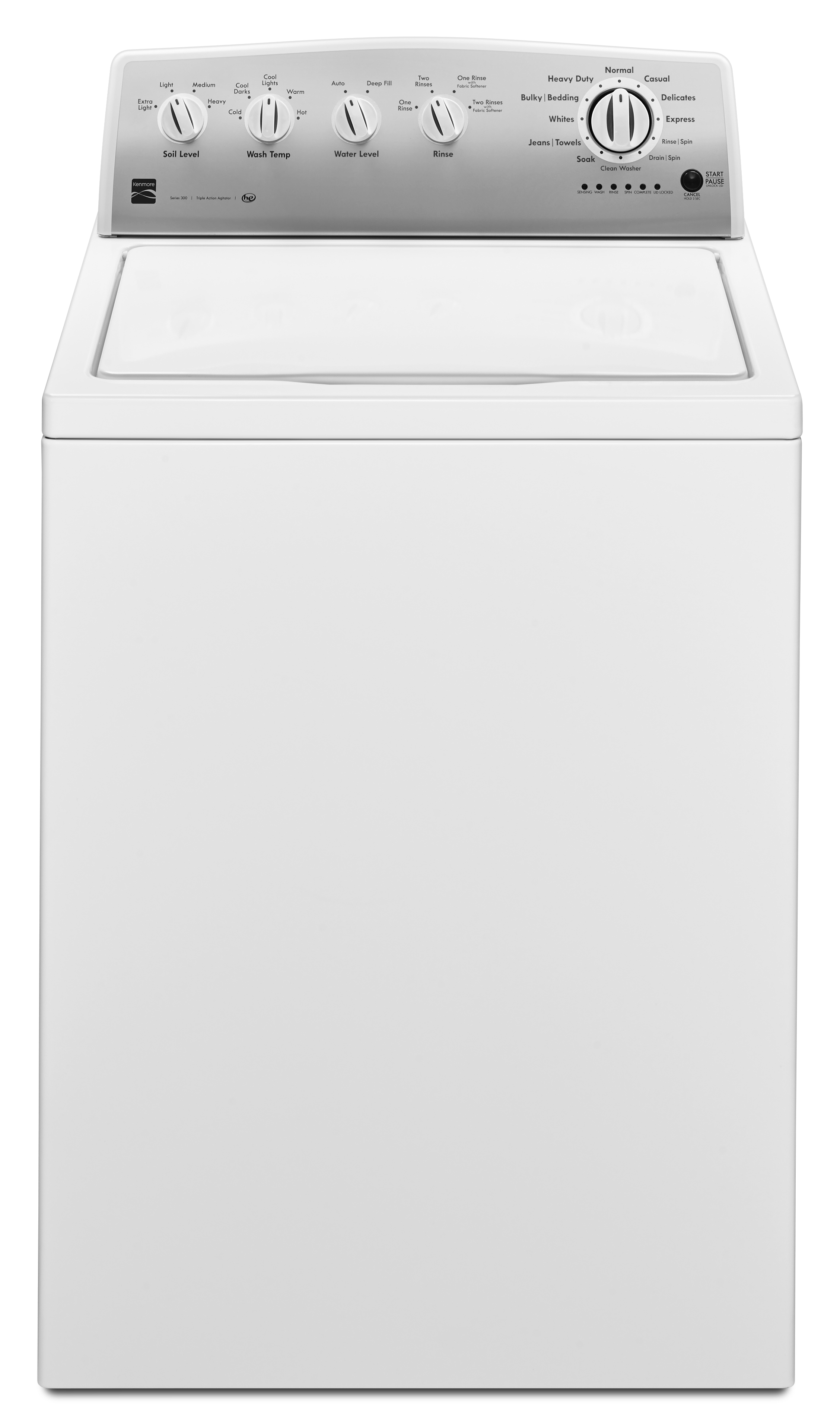 Kenmore 22242 3.6 cu. ft. Agitator Top-Load Washer - White