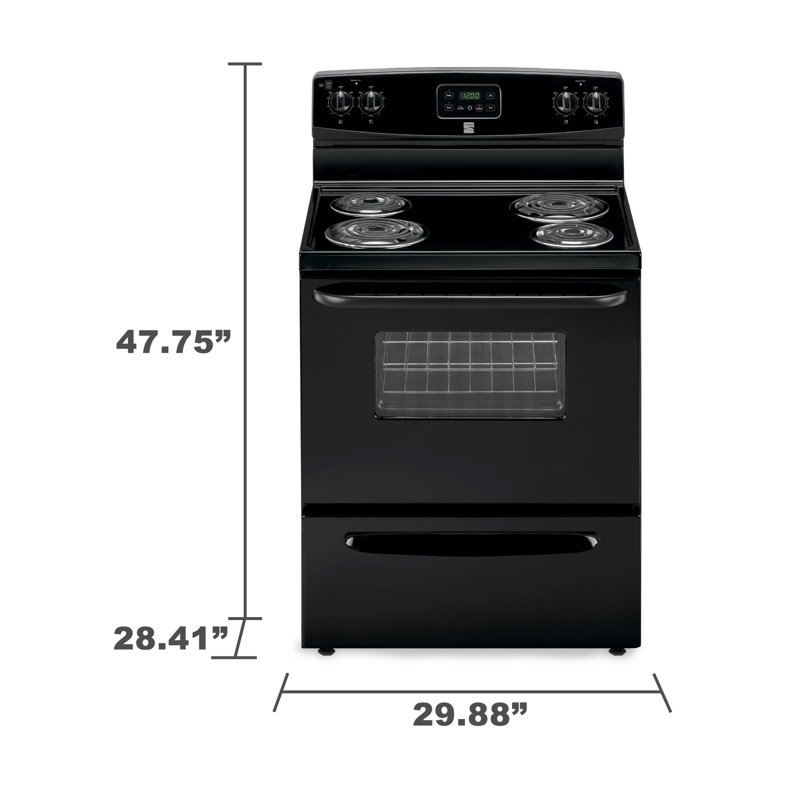 Kenmore 93009 4.9 cu. ft. Electric Range - Black