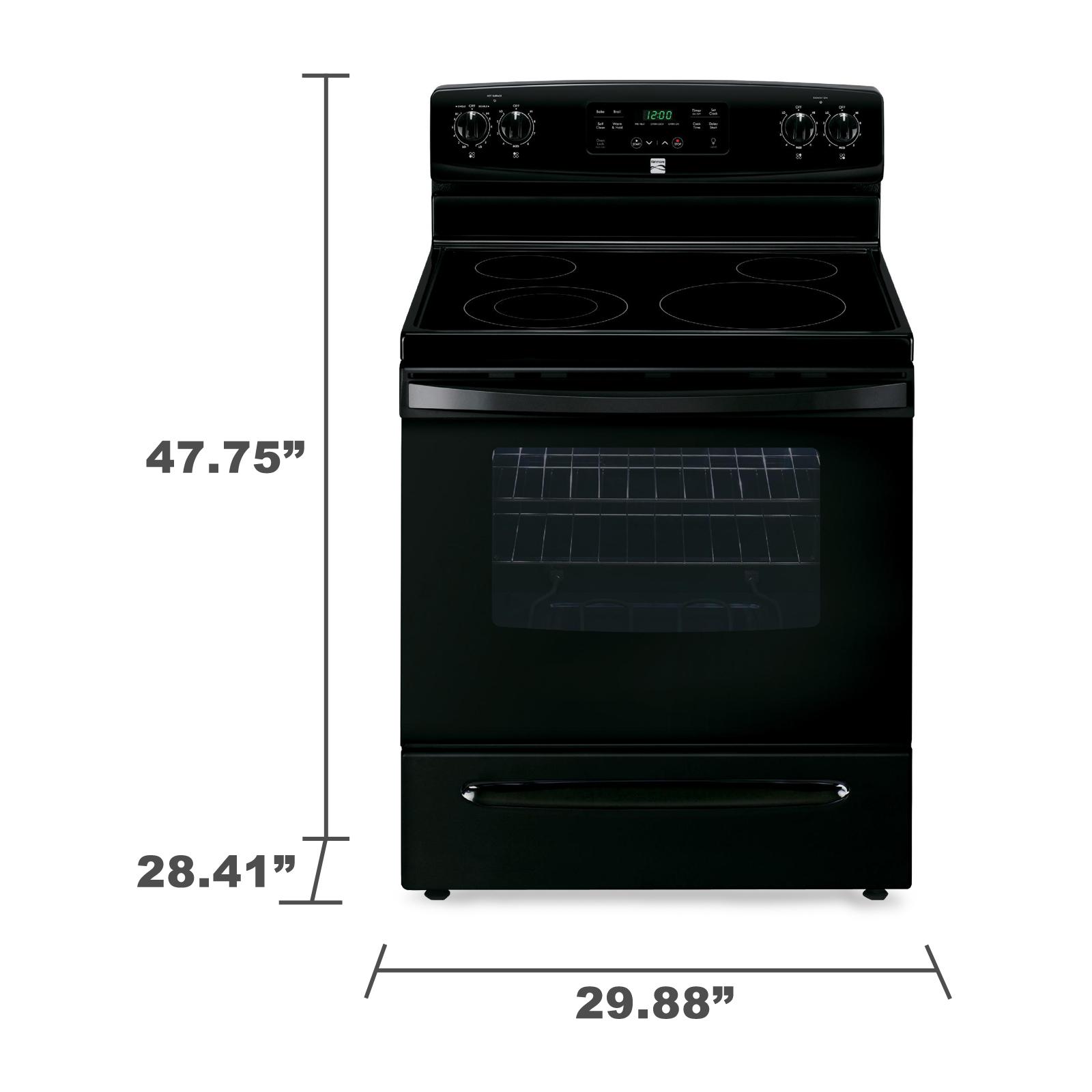 Kenmore 94179 5.3 cu. ft. Self-Cleaning Electric Range - Black