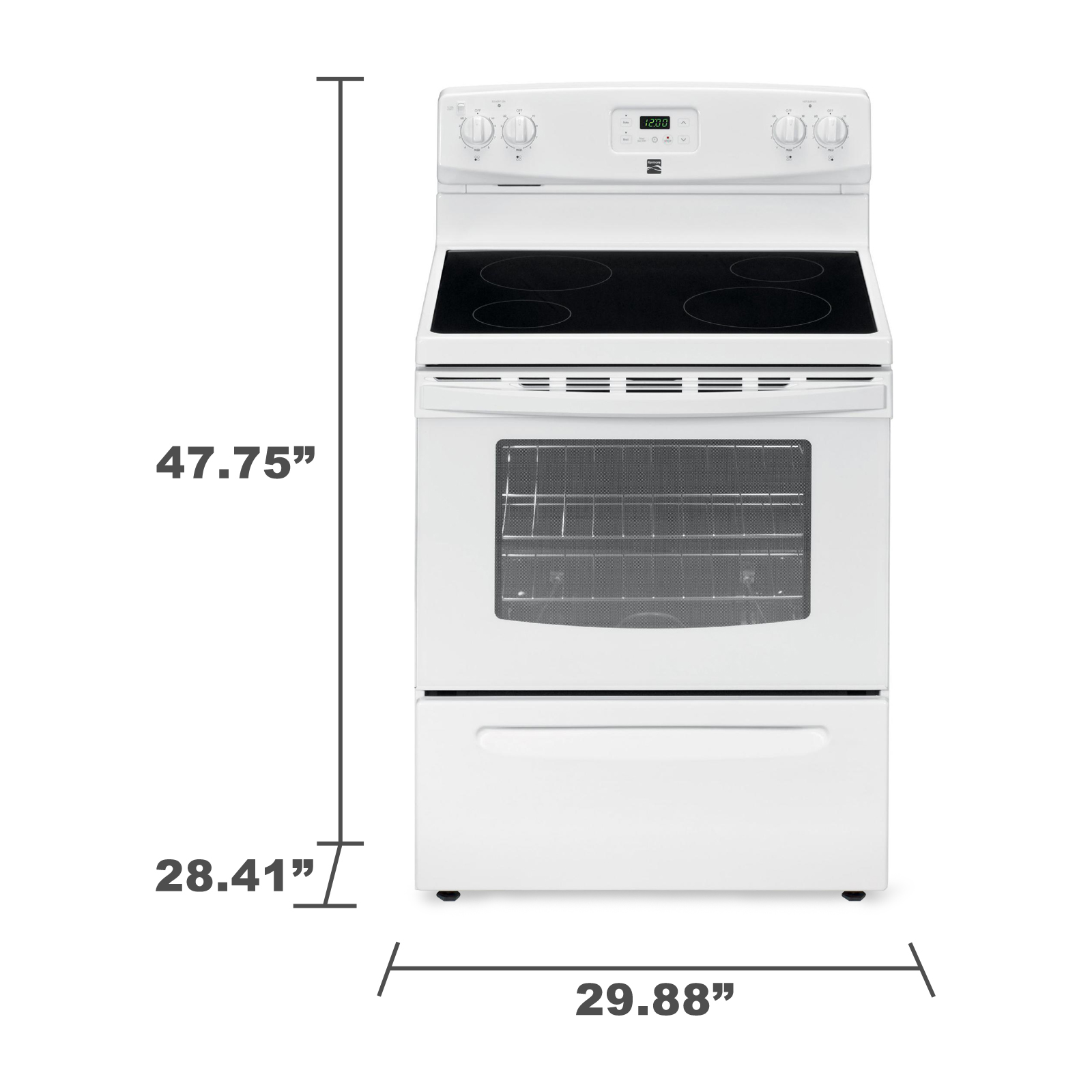 Kenmore 93012 4.9 cu. ft. Electric Range - White