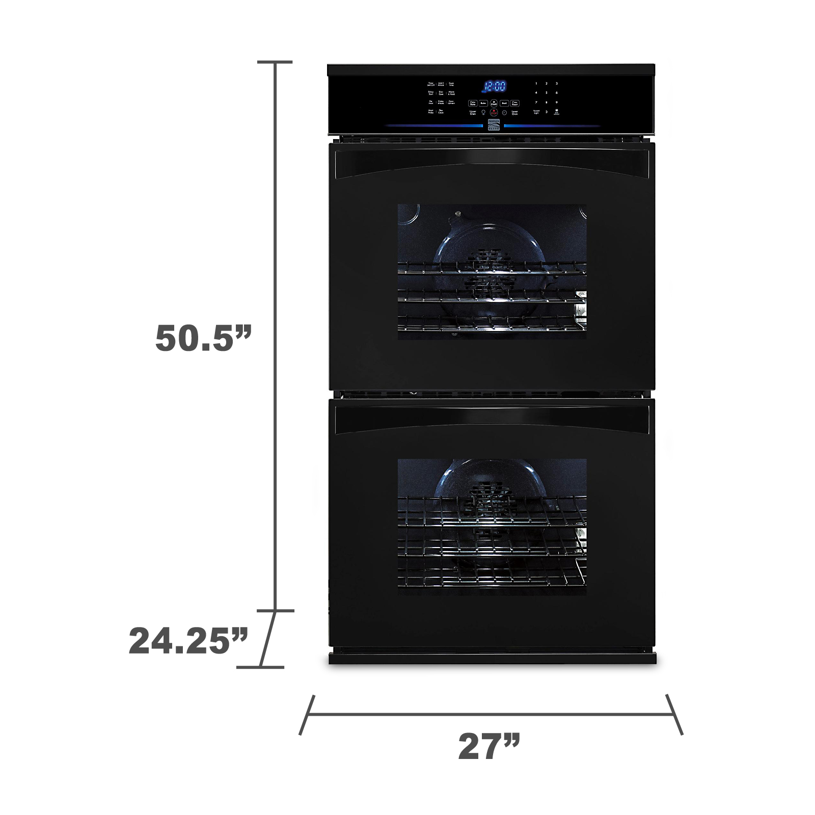 "Kenmore Elite 27"" Electric Double Wall Oven"