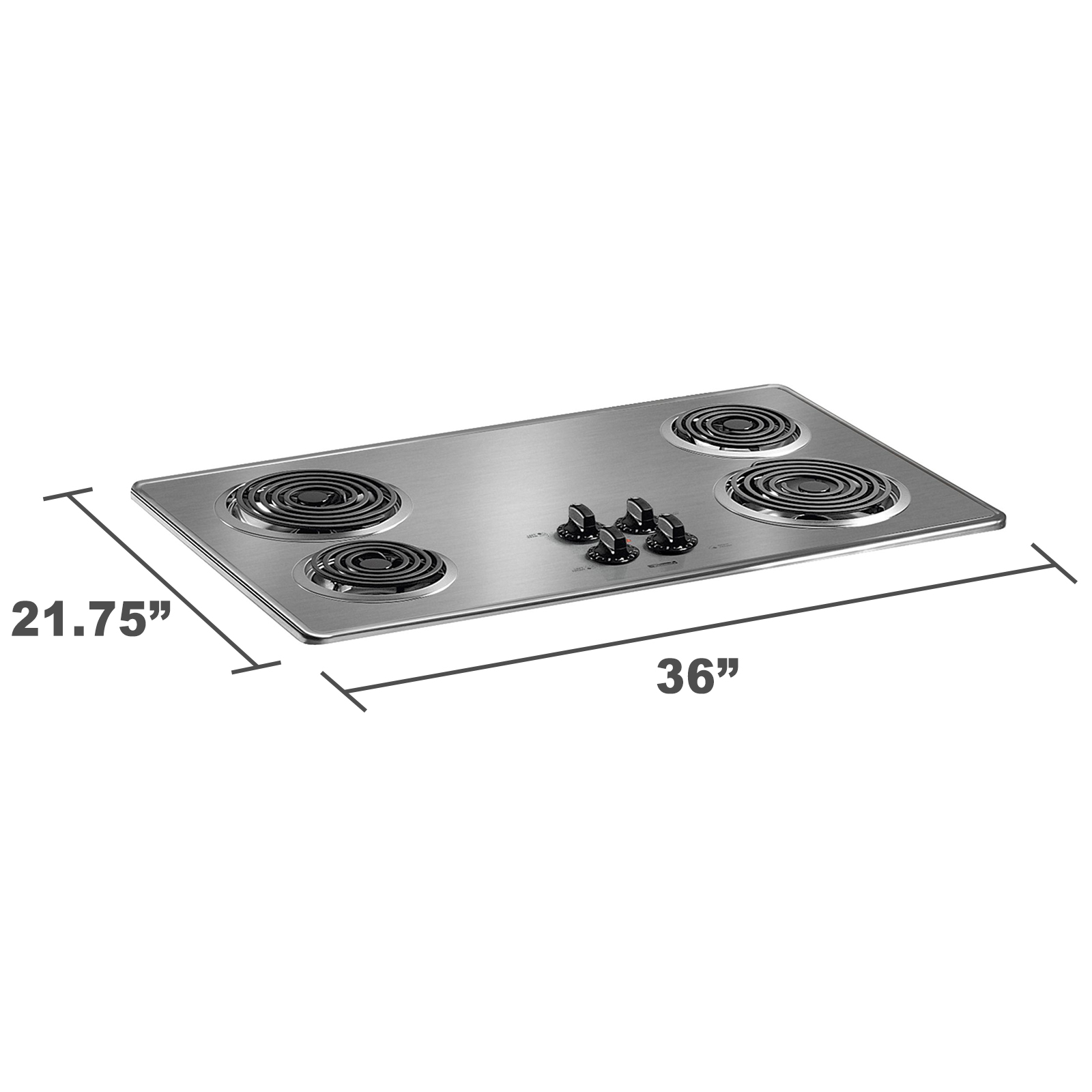 """Kenmore 41213 36"""" Electric Cooktop with Coil Elements 4121"""