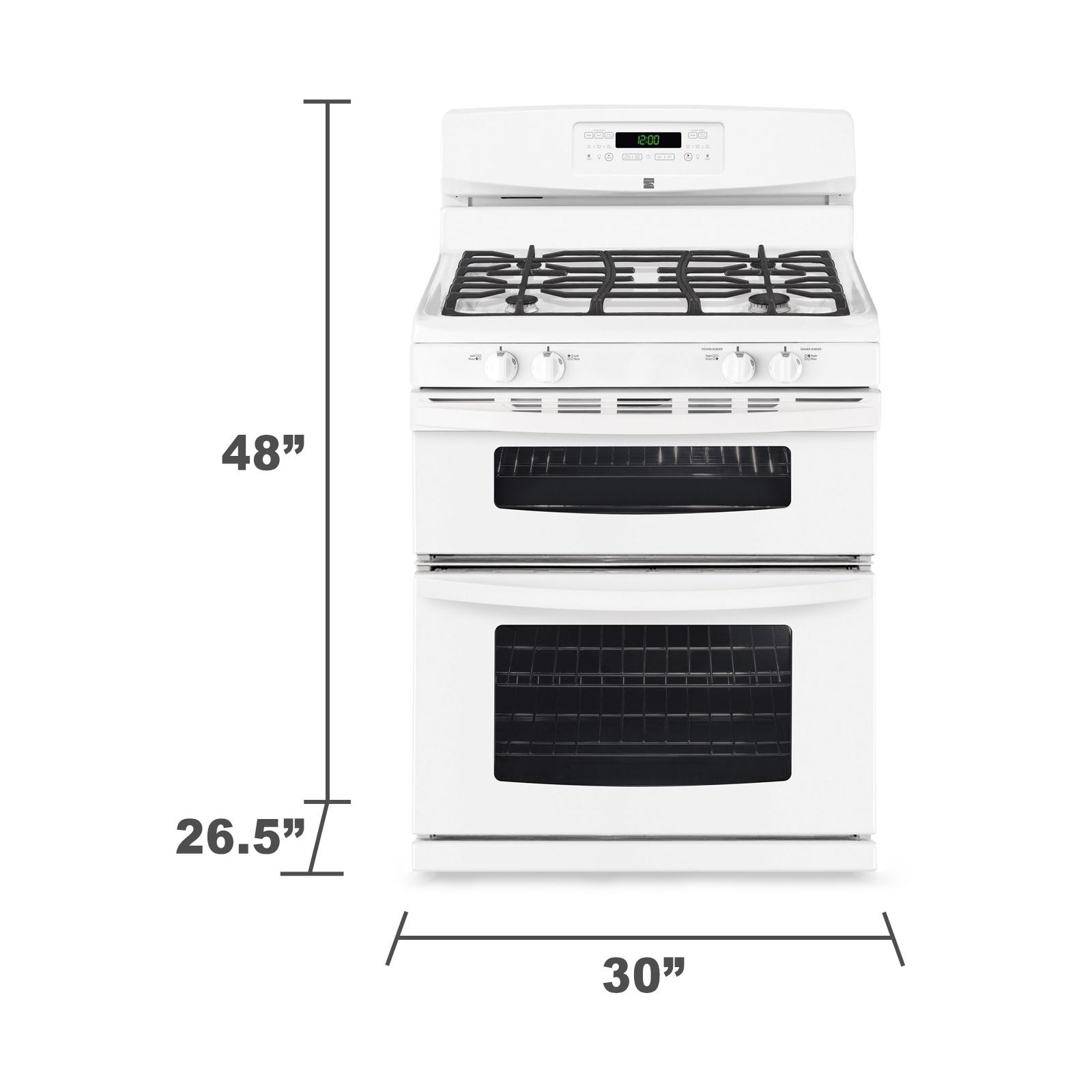 Kenmore 5.8 cu. ft. Double-Oven Gas Range