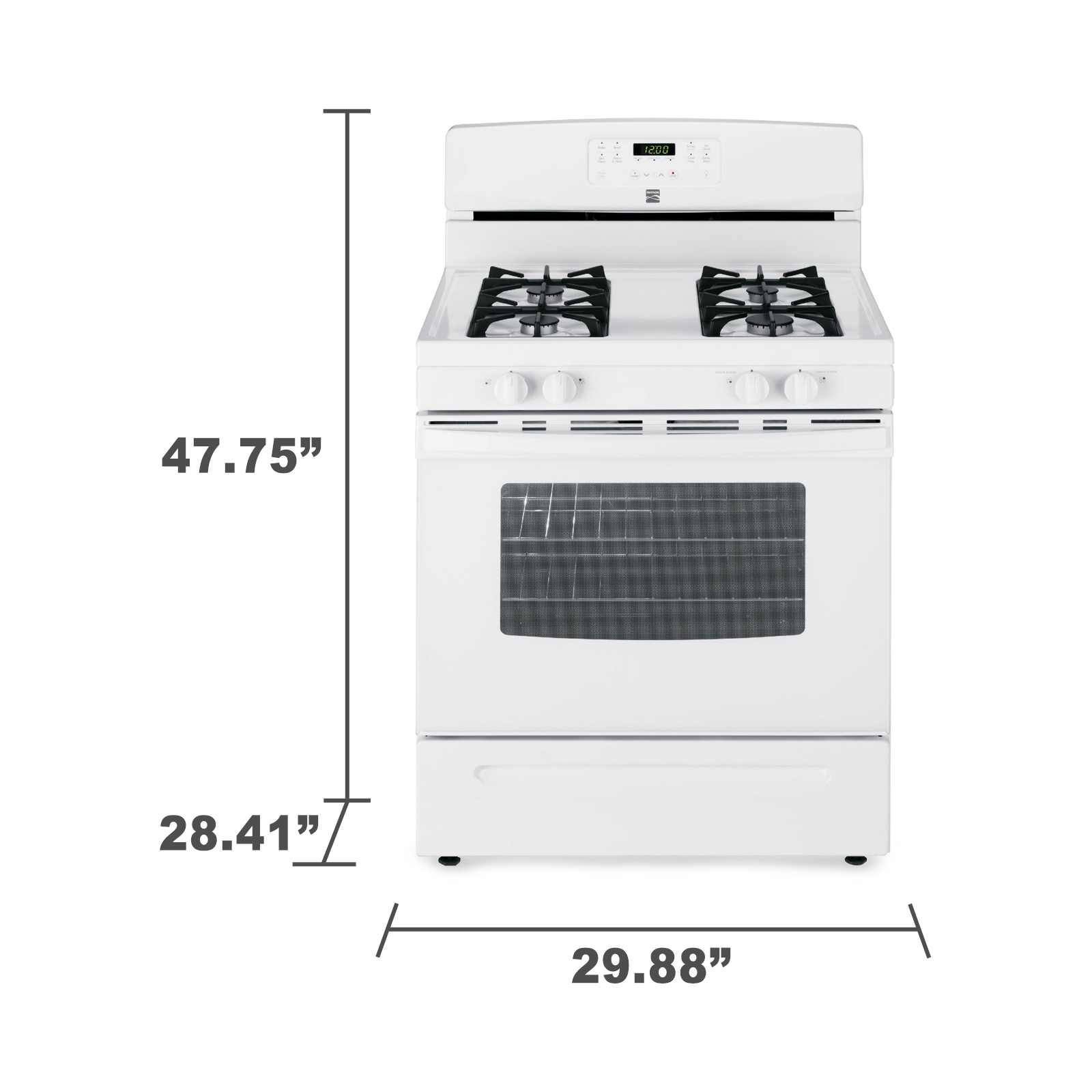 Kenmore 74032 5.0 cu. ft. Gas Range - White