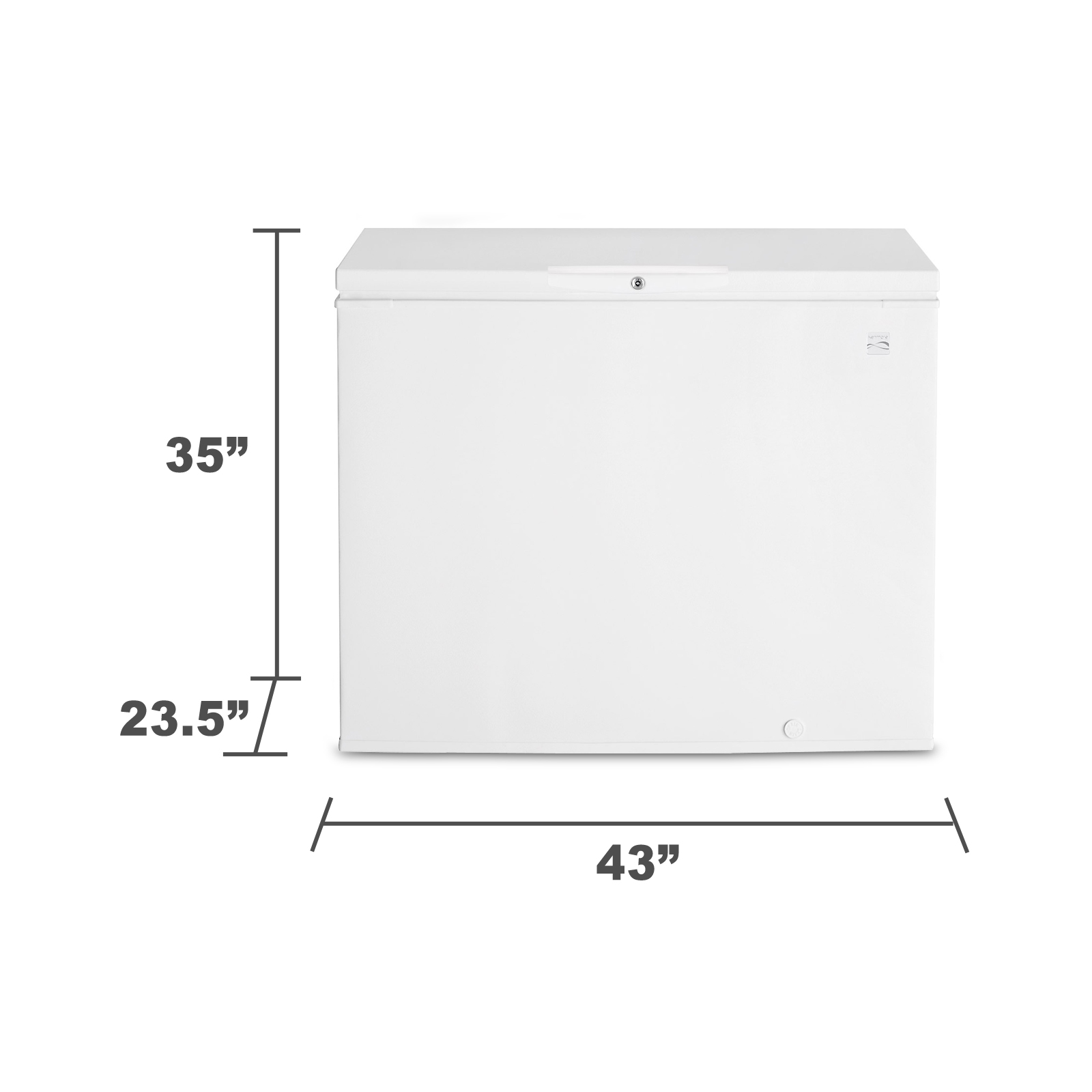 Kenmore 12912 9.1 cu. ft. Chest Freezer - White