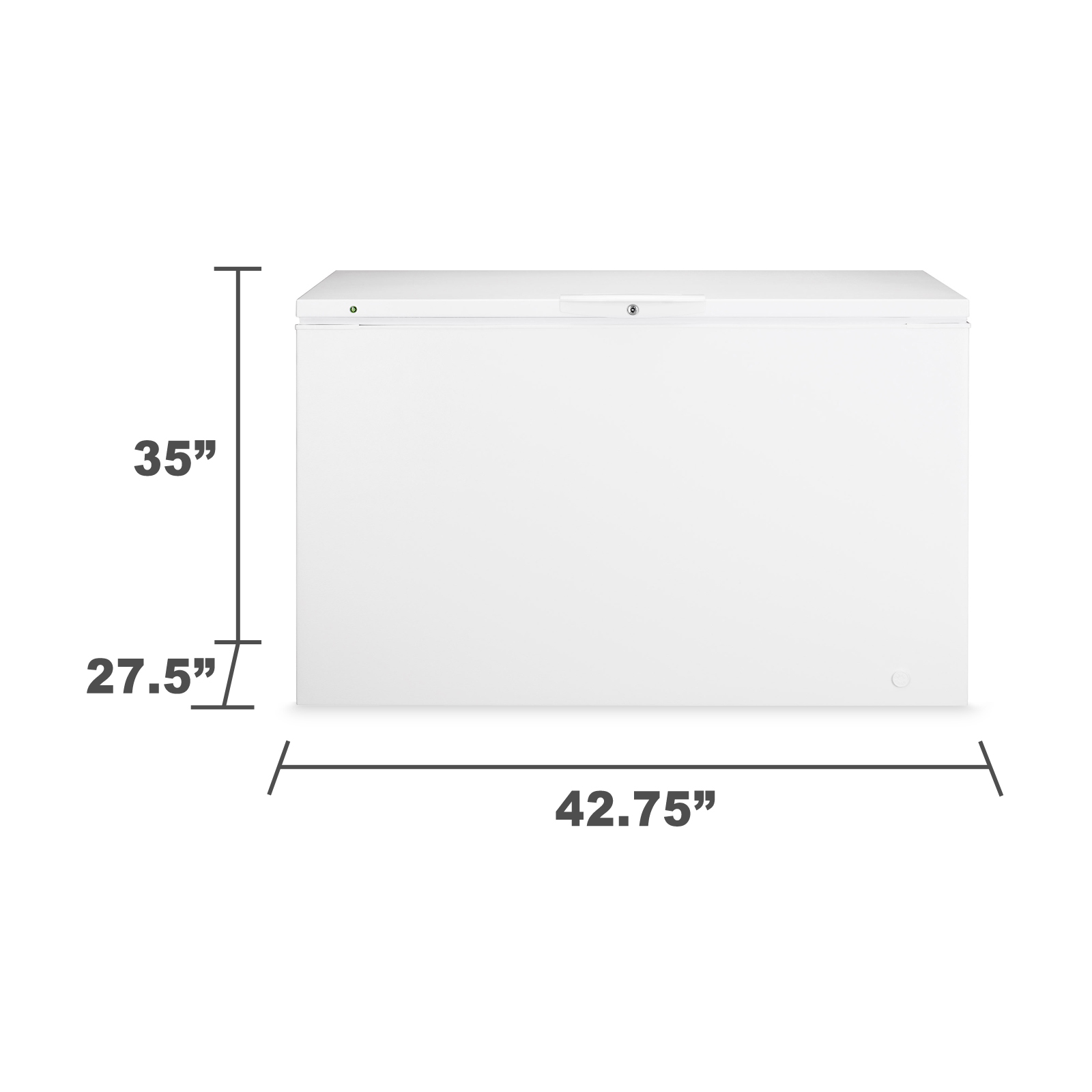 Kenmore 12112 11.1 cu. ft. Kenmore Chest Freezer - White