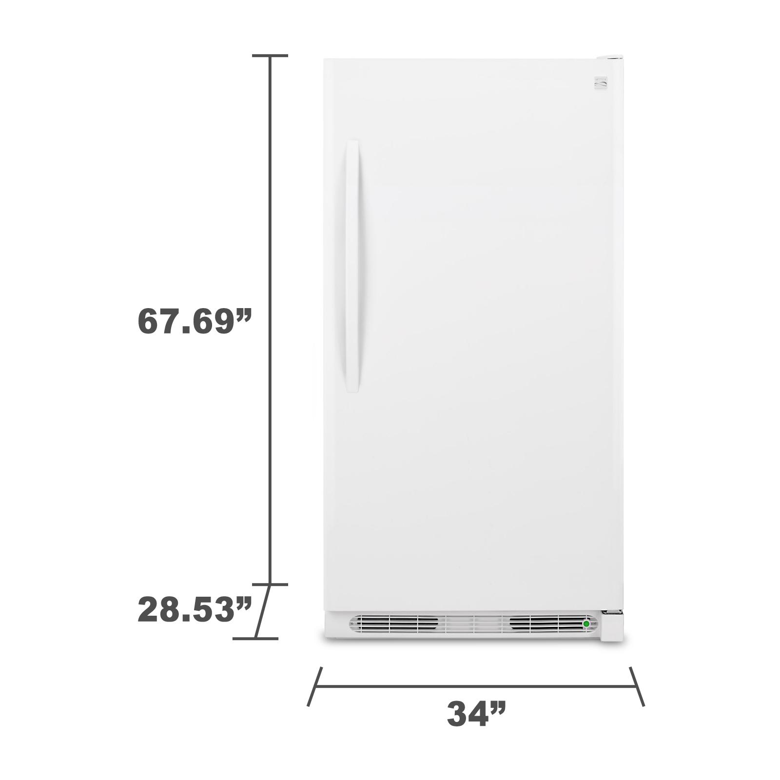 Kenmore 22742 16.6 cu. ft. Upright Freezer - White