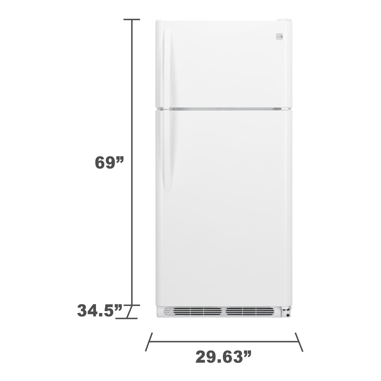 Kenmore 60082 20.4 cu. ft. Top Freezer Refrigerator - White