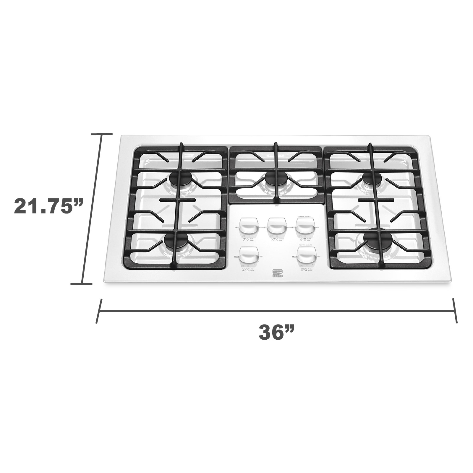 "Kenmore 36"" Sealed Gas Cooktop 3243"