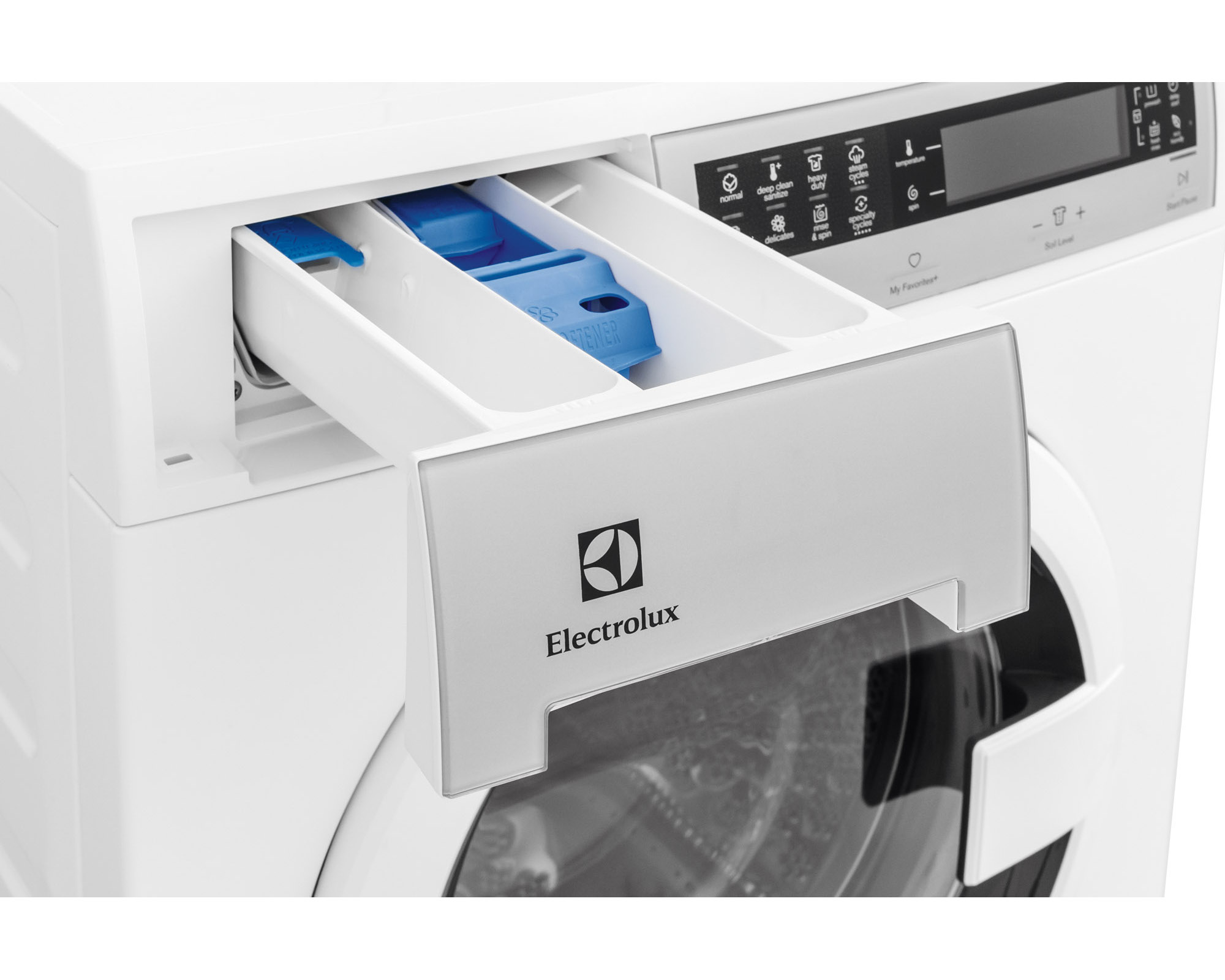 """Electrolux EIFLS20QSW 24"""" Front-Load Washer w/ Perfect Steam™ Technology - White"""
