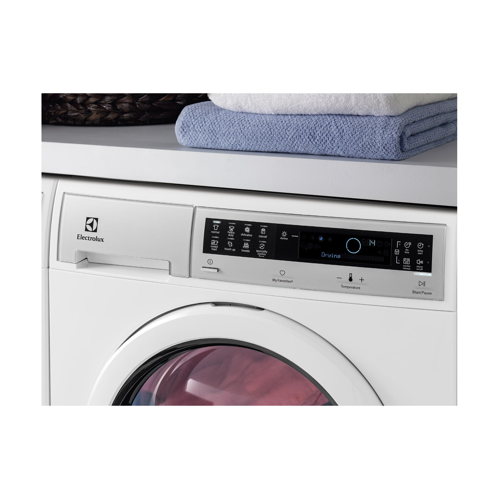 Electrolux EIED200QSW 4.0 cu. ft. Front Load Compact Ventless Dryer - White