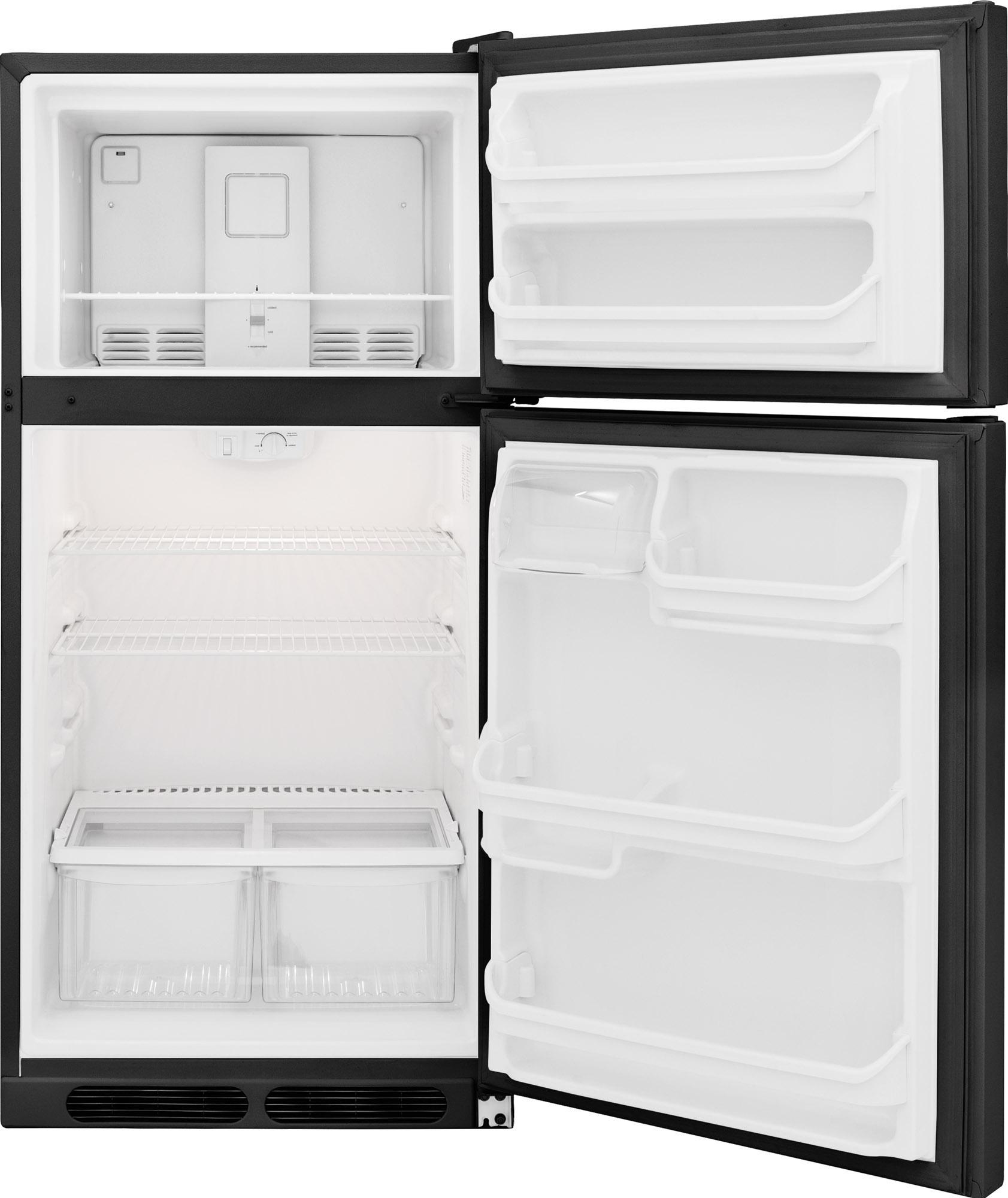 Frigidaire FFHT1514QB 14.5 cu. ft. Top-Mount Refrigerator - Black