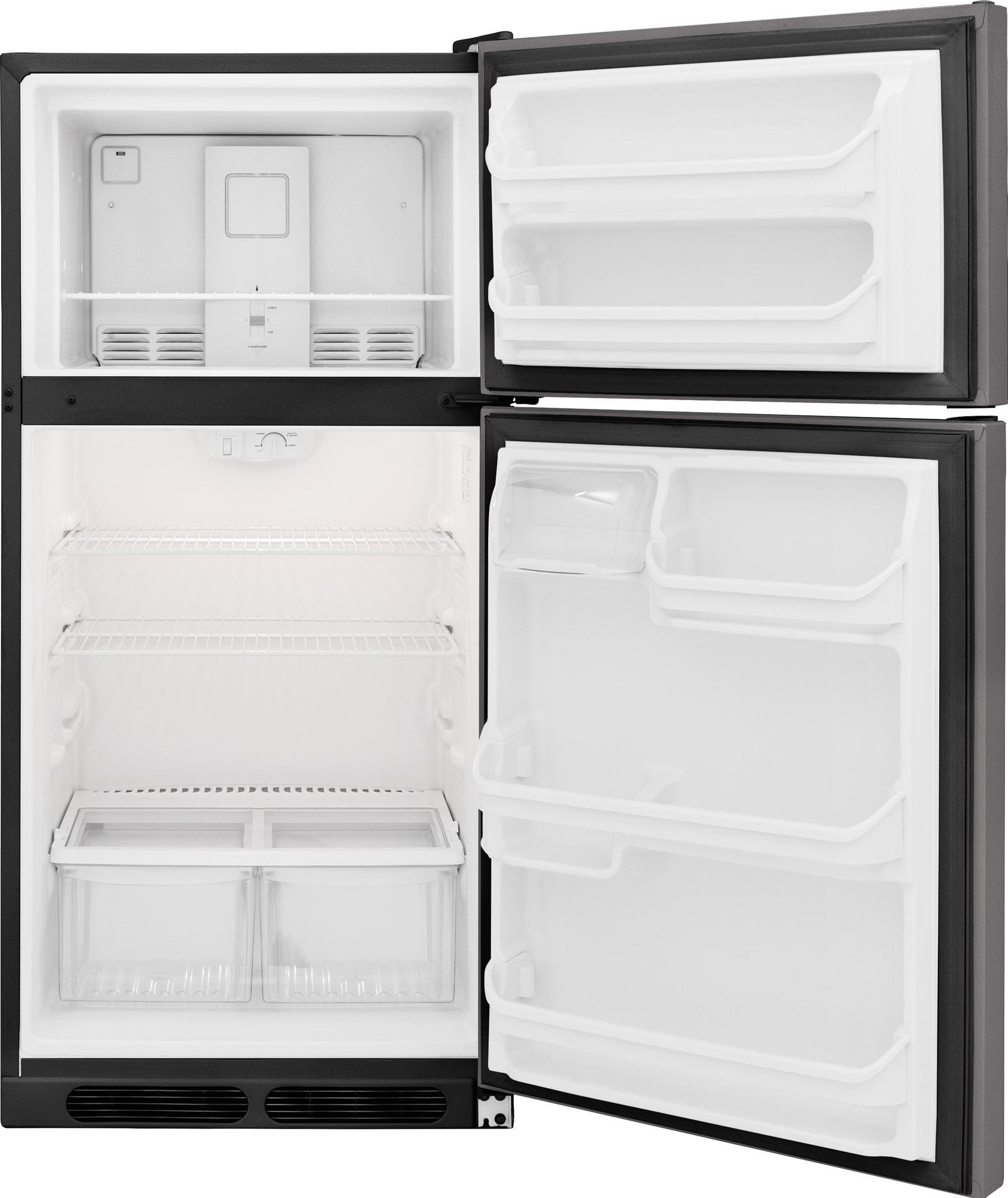 Frigidaire FFHT1514QS 14.5 cu. ft. Top-Mount Refrigerator - Stainless Steel