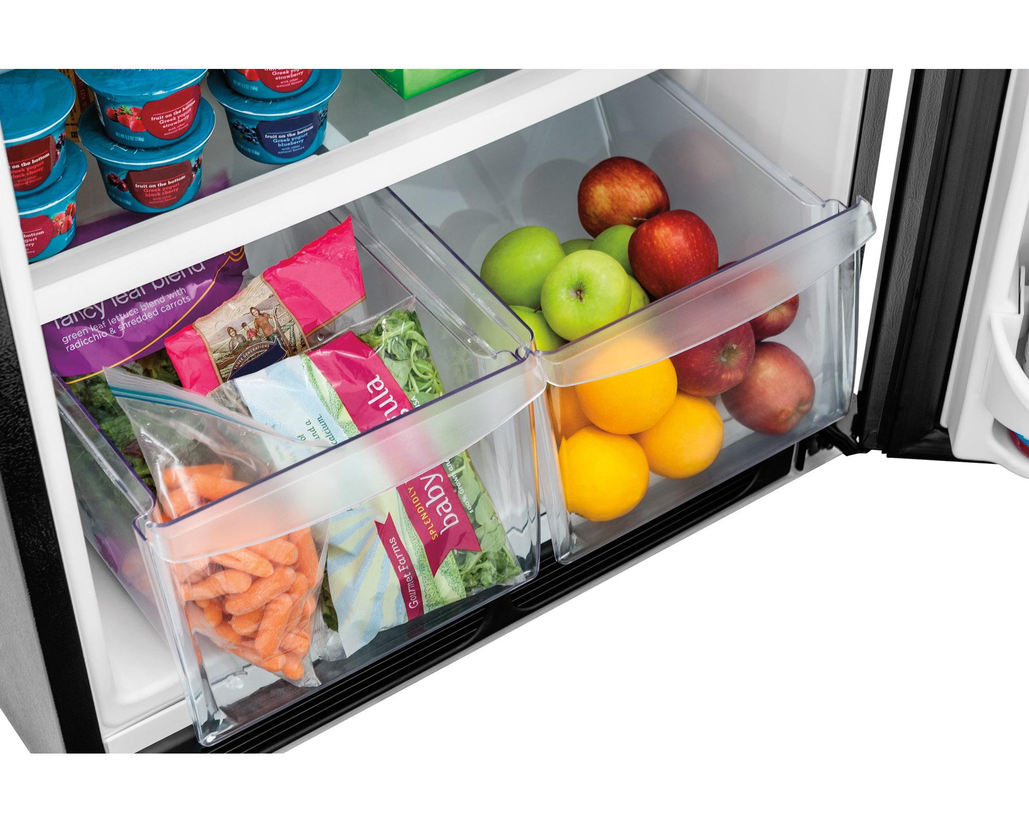 Frigidaire FFHT1621QB 16.3 cu. ft. Top-Mount Refrigerator - Black