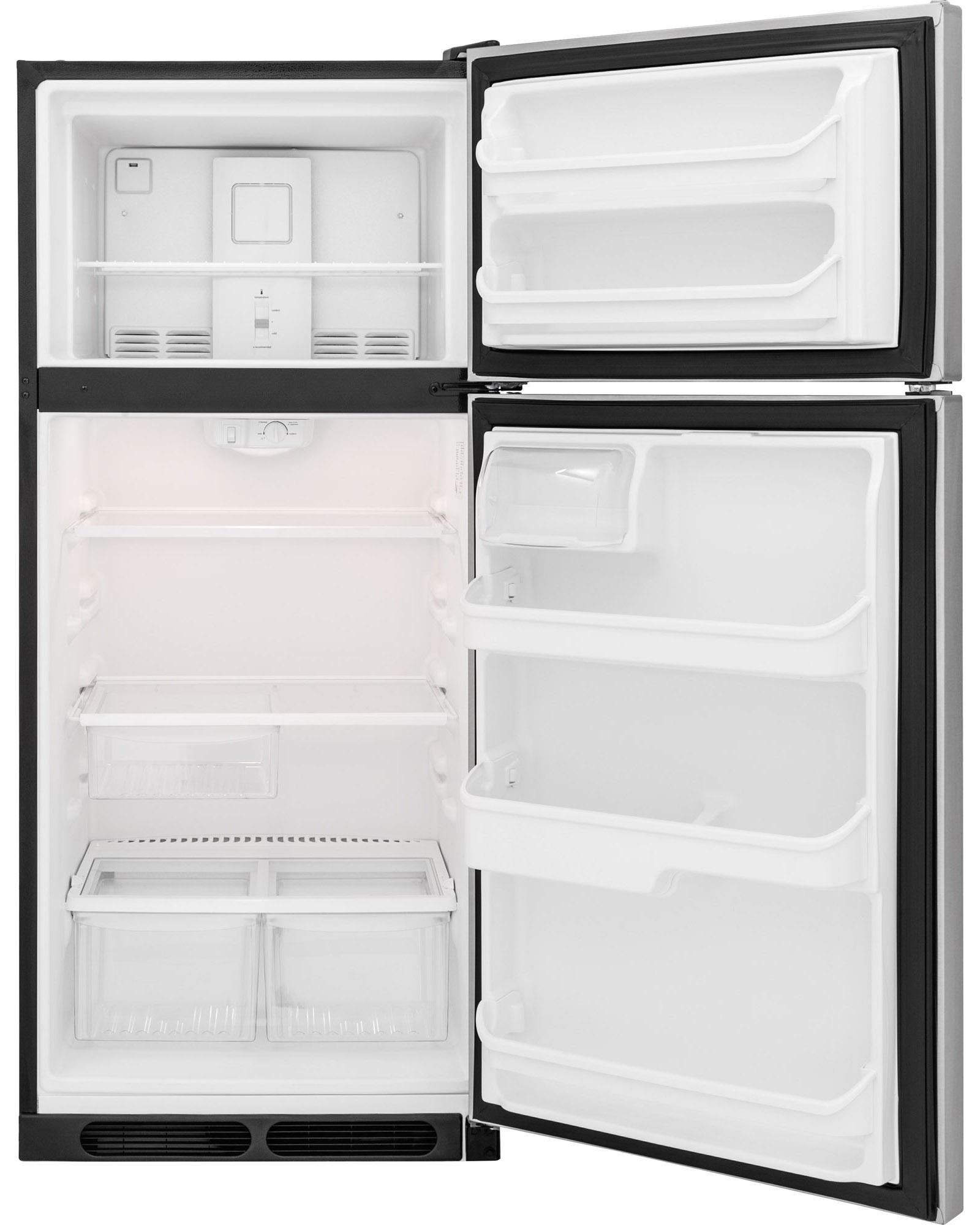 Frigidaire FFHT1621QS 16.3 cu. ft. Top-Mount Refrigerator - Stainless Steel
