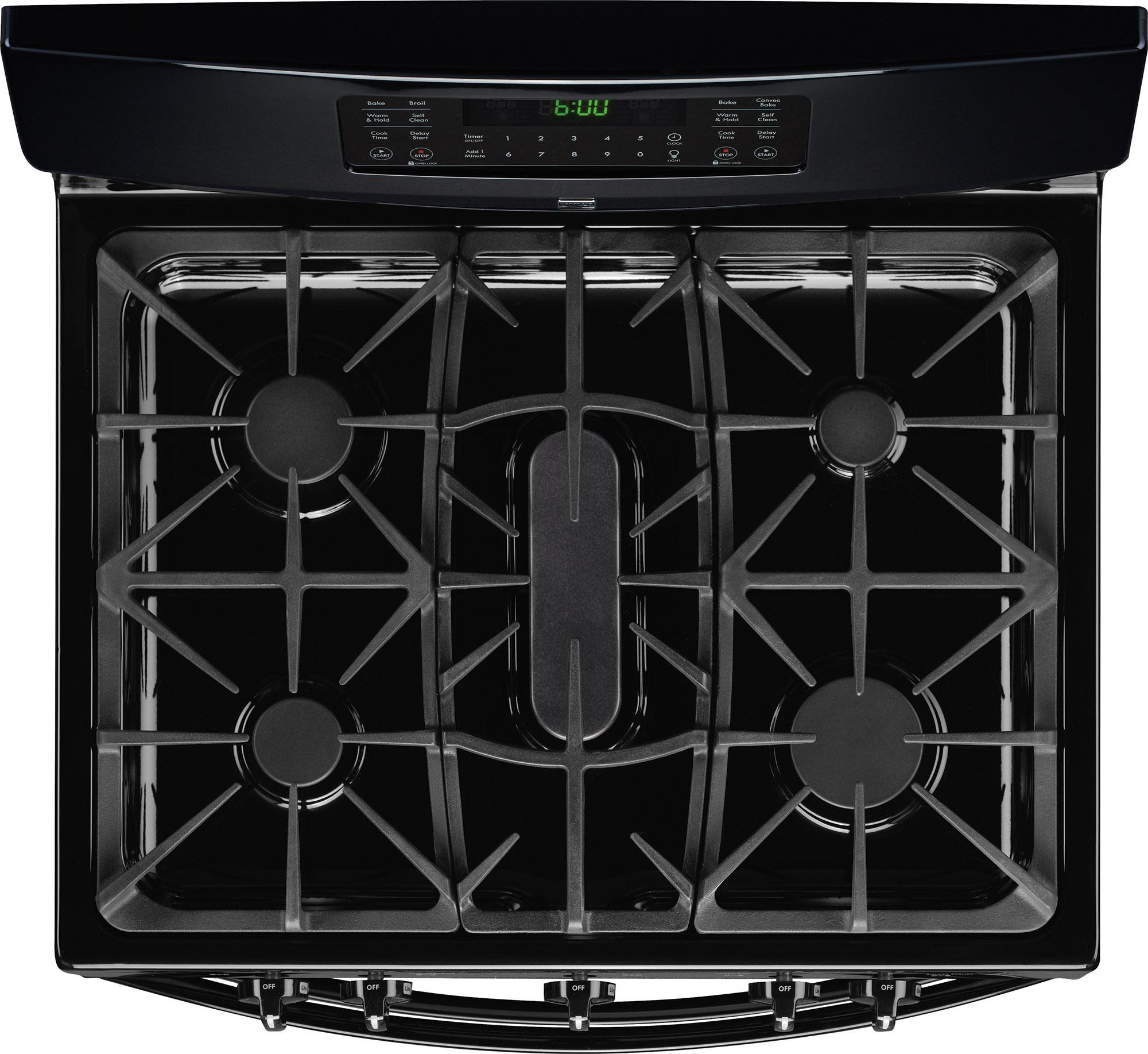 Kenmore 78049 5.9 cu. ft. Double-Oven Gas Range - Black