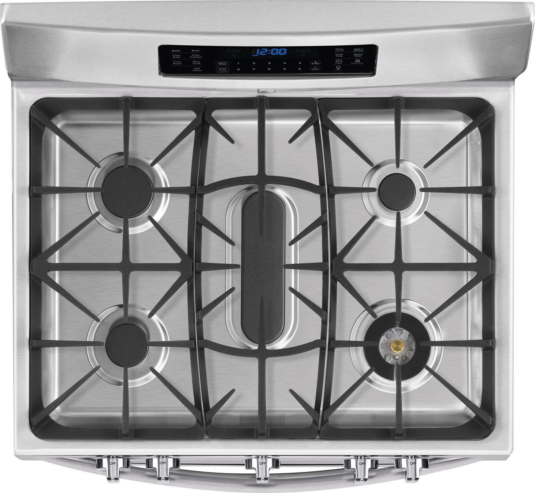 Kenmore Elite 75443  5.9 cu. ft. Double-Oven Gas Range - Stainless Steel