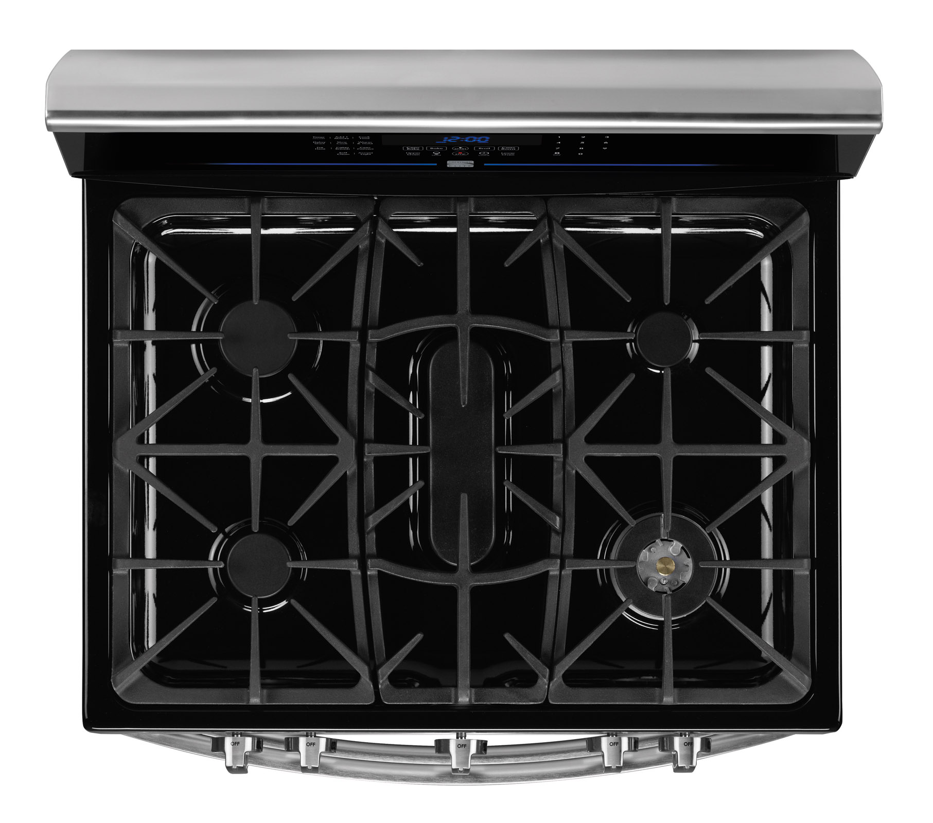 Kenmore Elite 78053 5.9 cu. ft. Double-Oven Gas Range - Stainless w/ Black Top