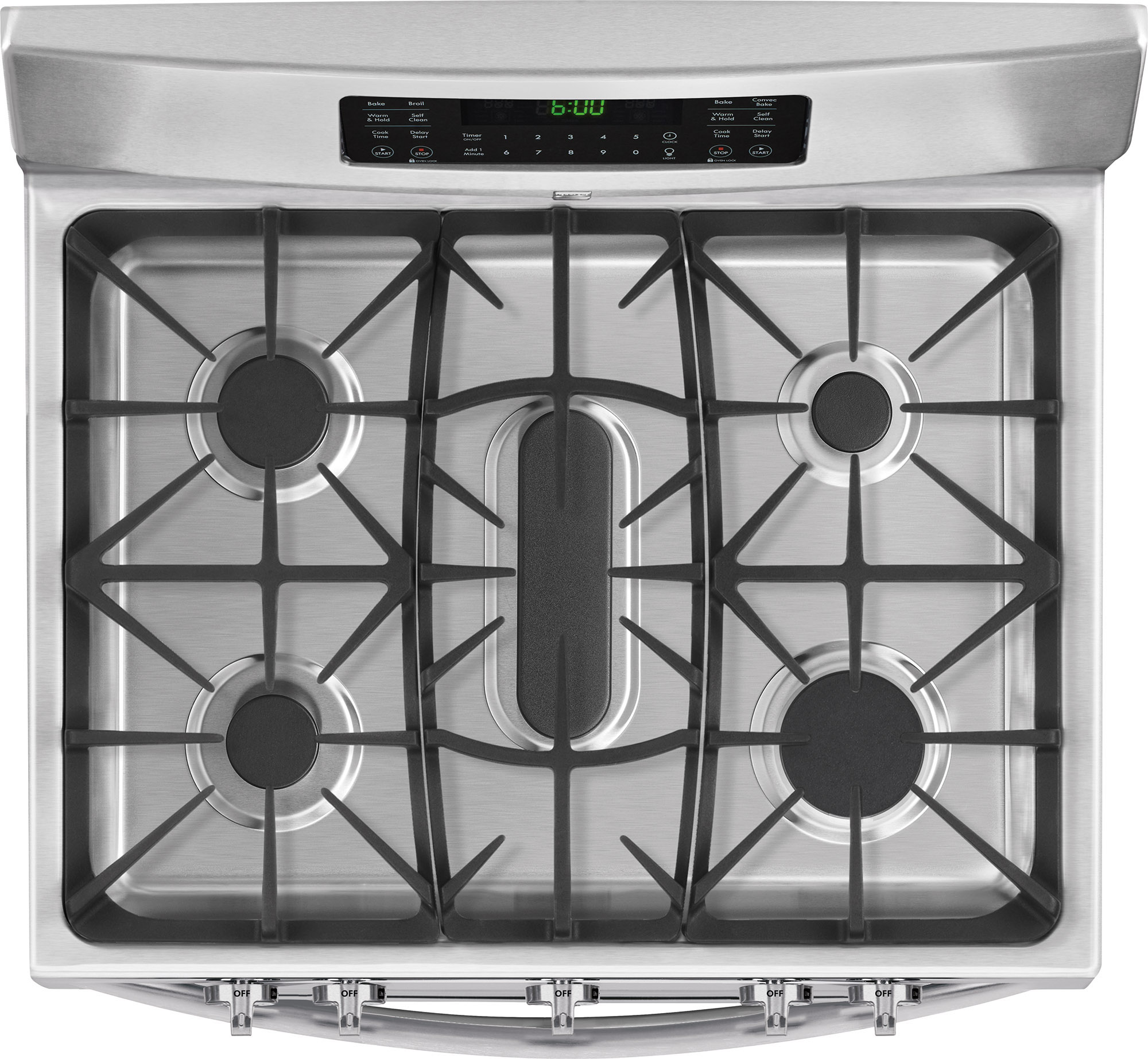 Kenmore 78143 5.9 cu. ft. Double-Oven Gas Range - Stainless Steel